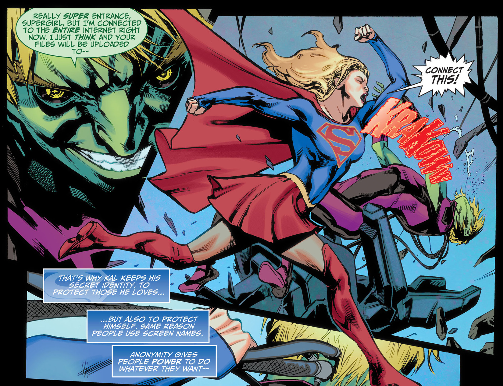 Read online Adventures of Supergirl comic -  Issue #5 - 19