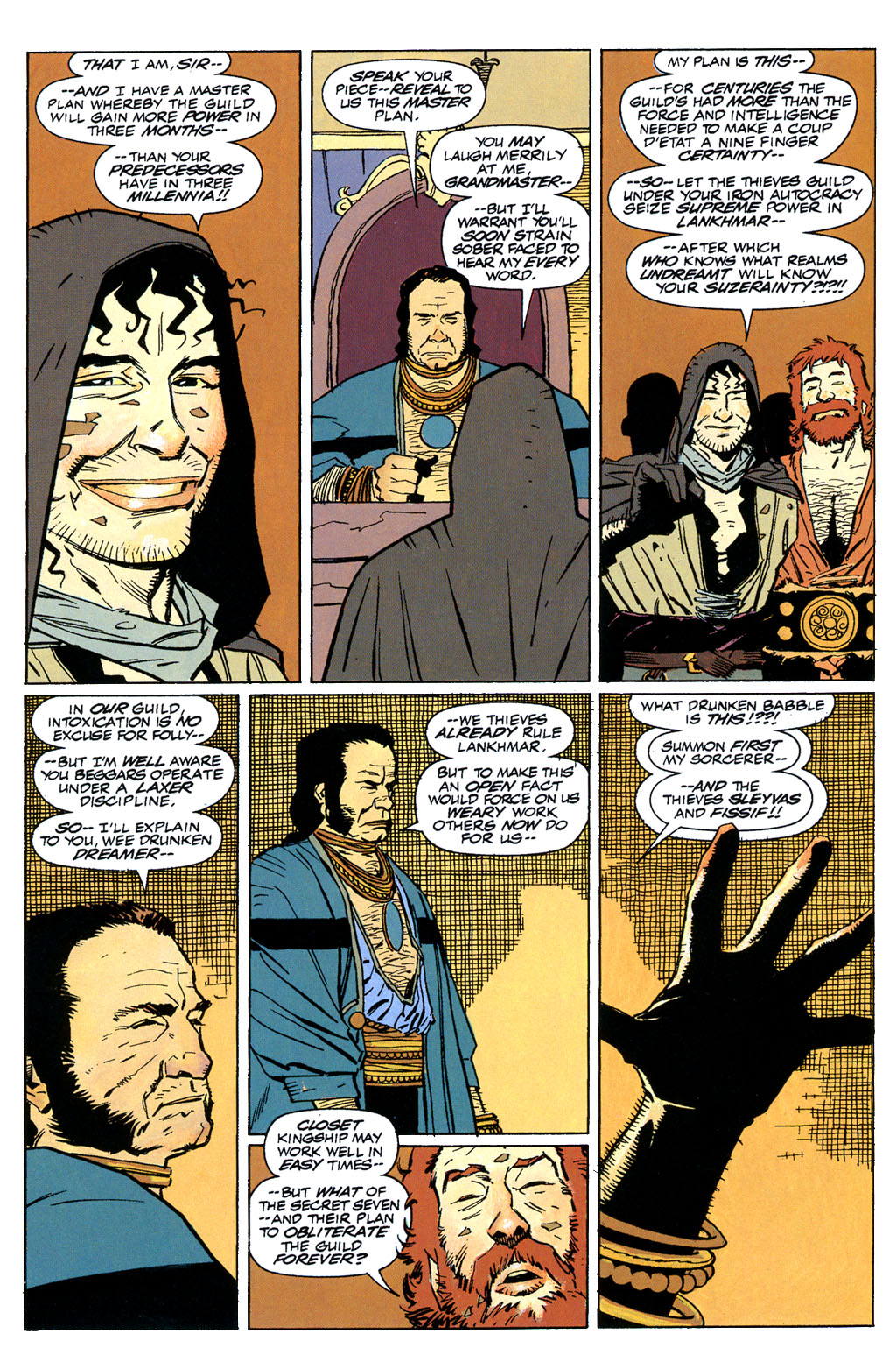 Read online Fafhrd and the Gray Mouser comic -  Issue #1 - 24