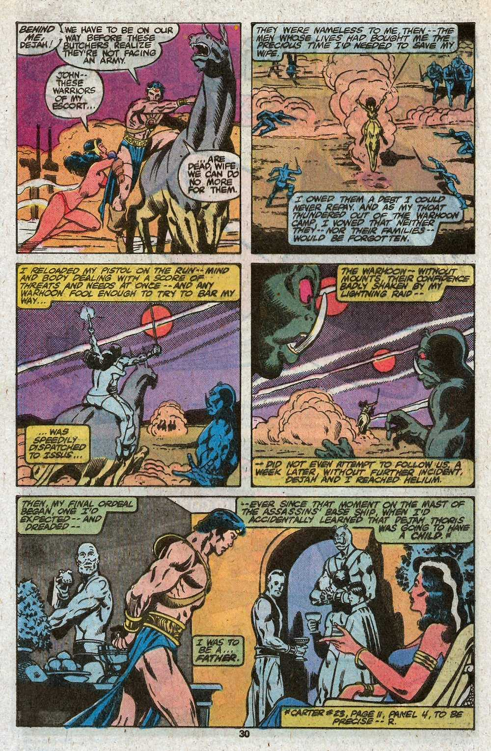 John Carter Warlord of Mars issue 27 - Page 32