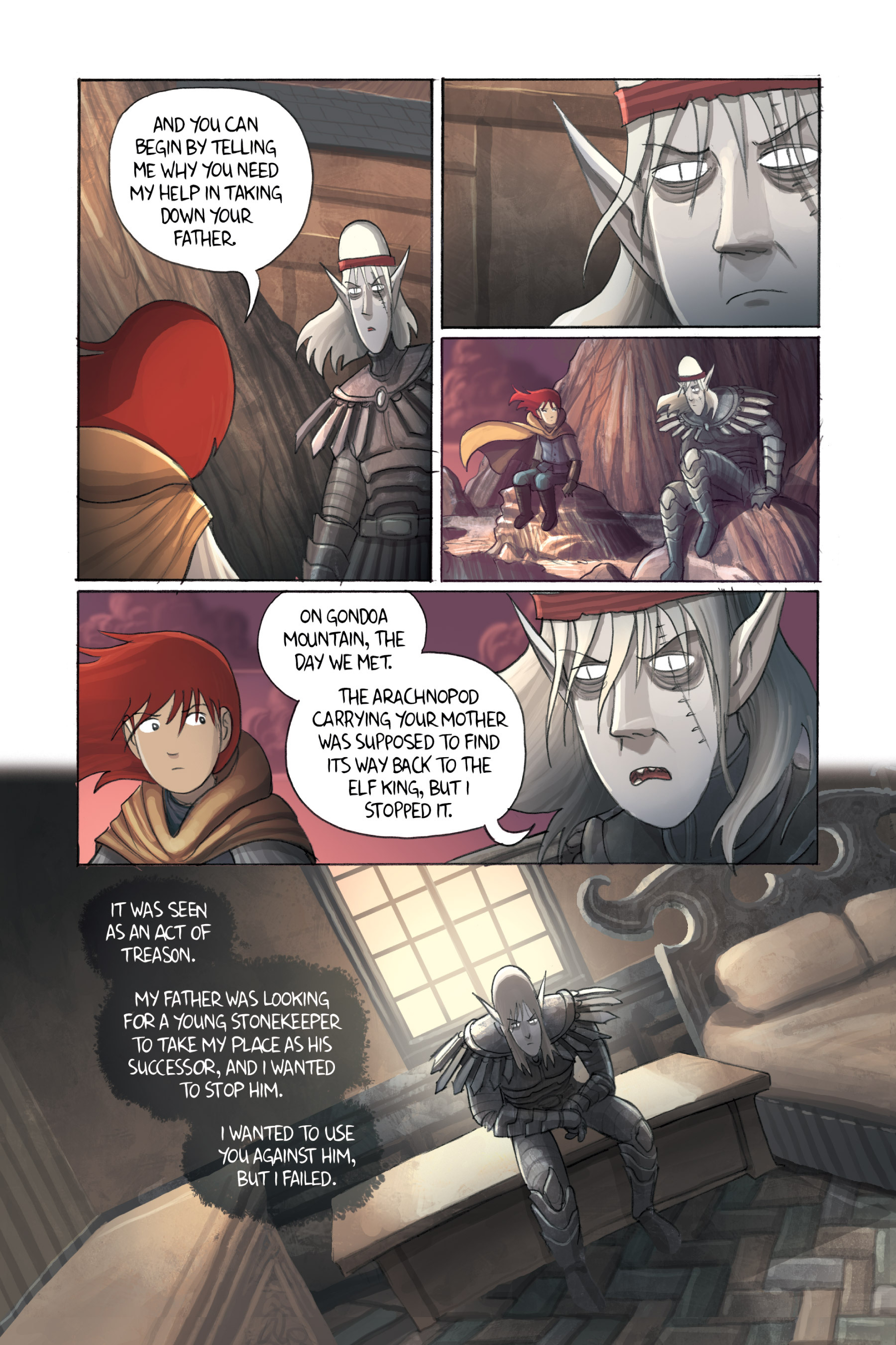 Read online Amulet comic -  Issue #3 - 134