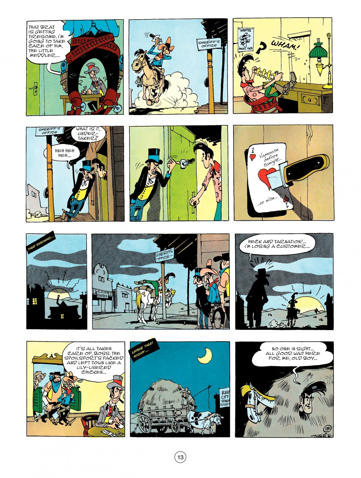 Read online A Lucky Luke Adventure comic -  Issue #44 - 13