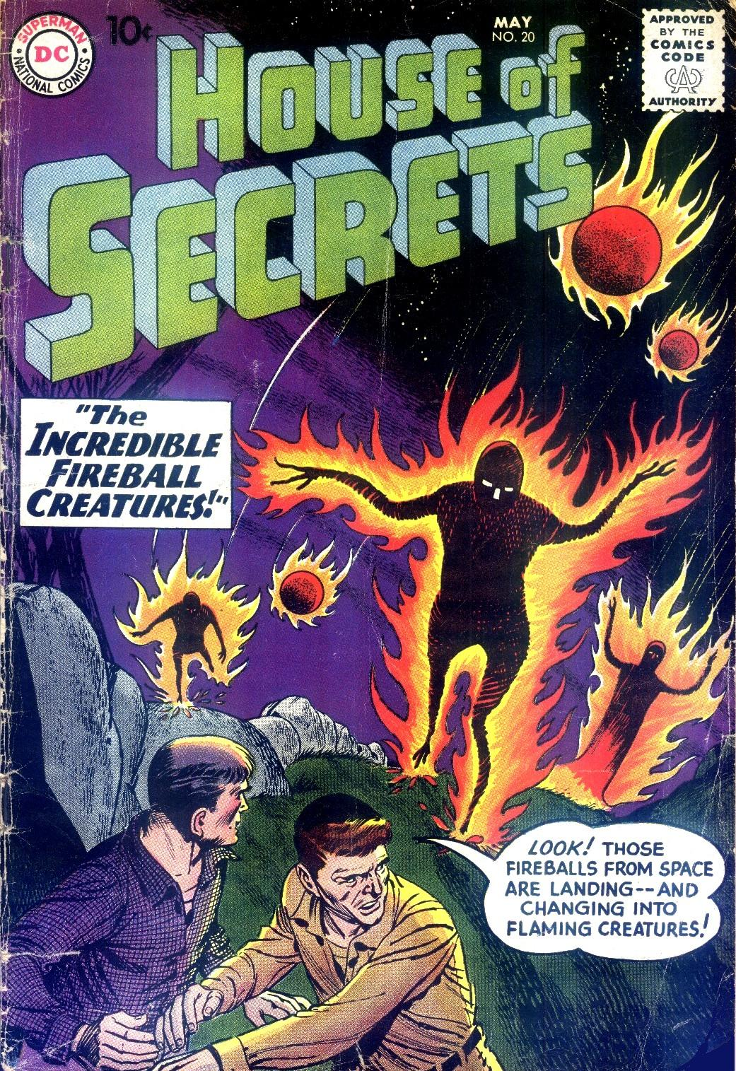 House of Secrets (1956) issue 20 - Page 1