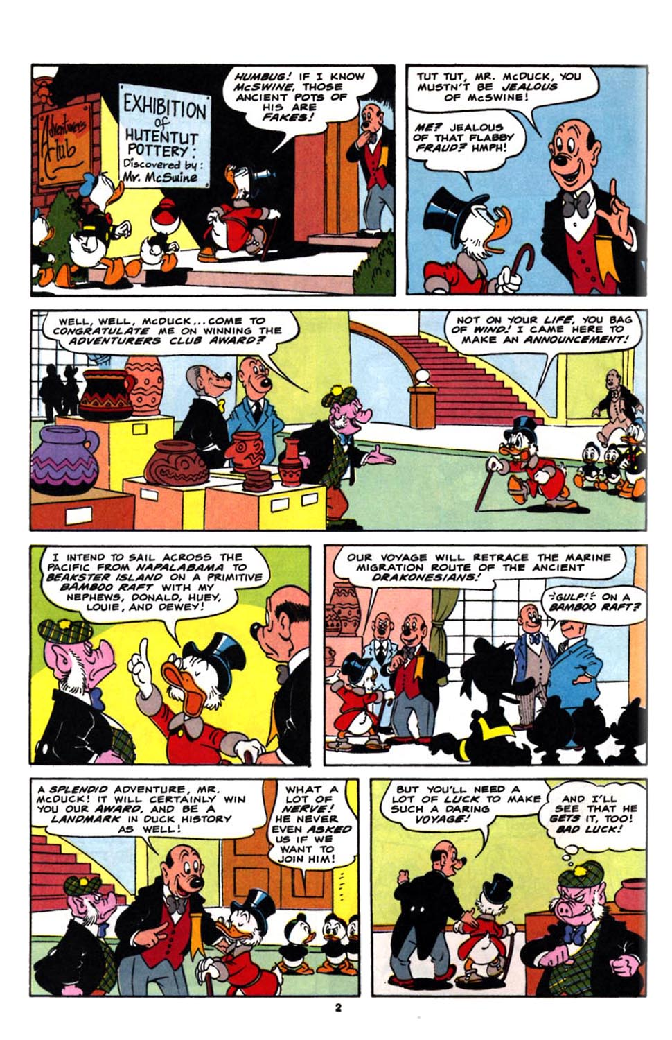 Read online Uncle Scrooge (1953) comic -  Issue #244 - 4