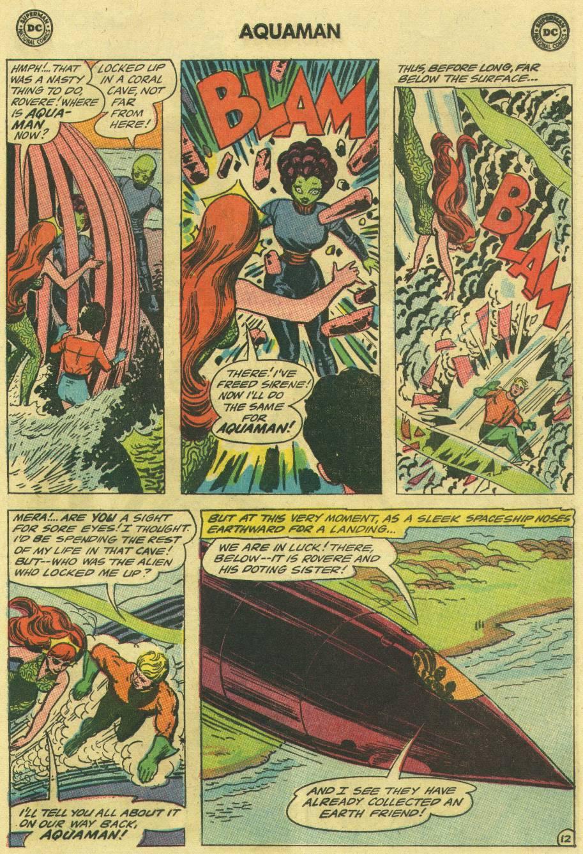 Read online Aquaman (1962) comic -  Issue #16 - 17