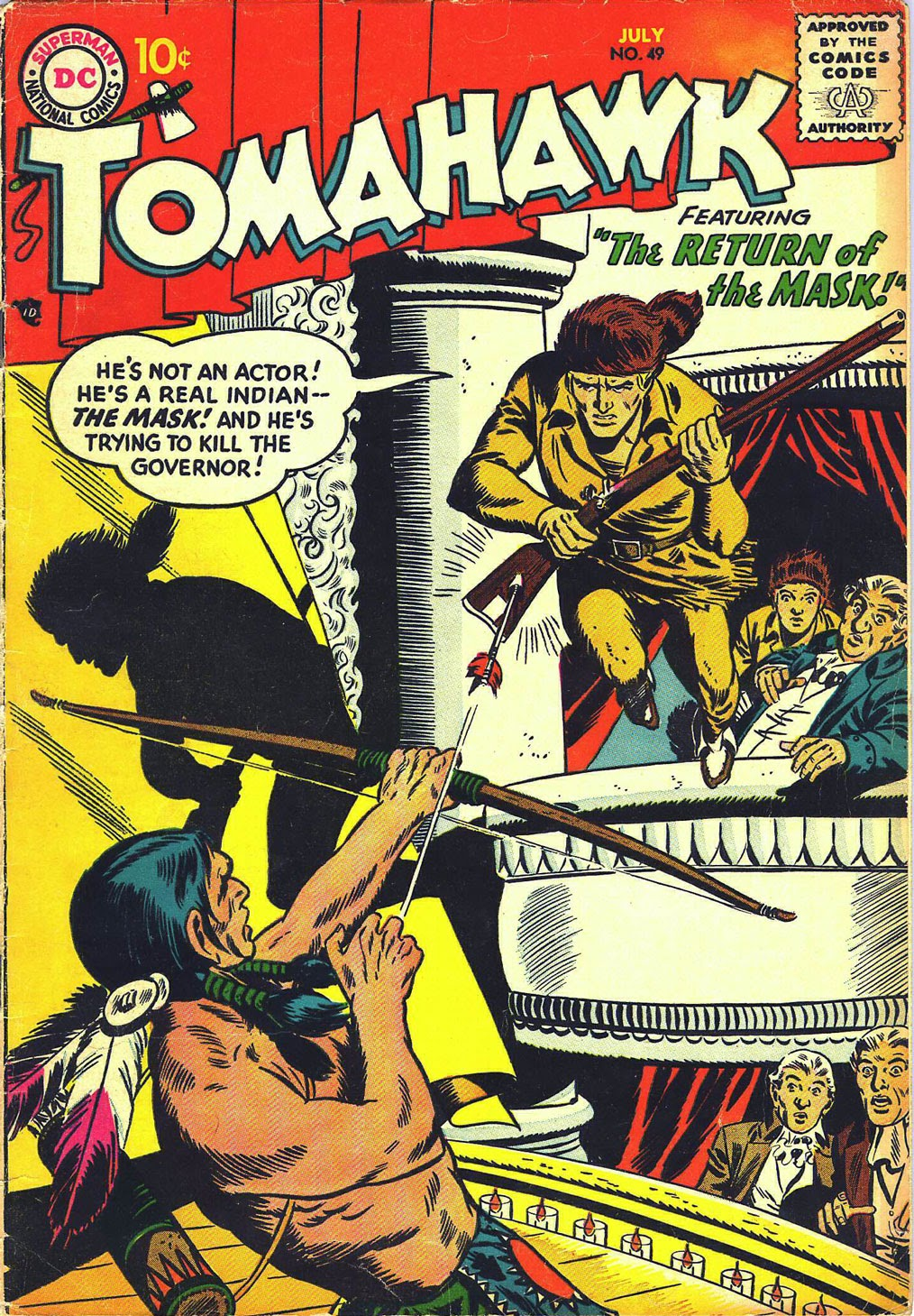 Read online Tomahawk comic -  Issue #49 - 1