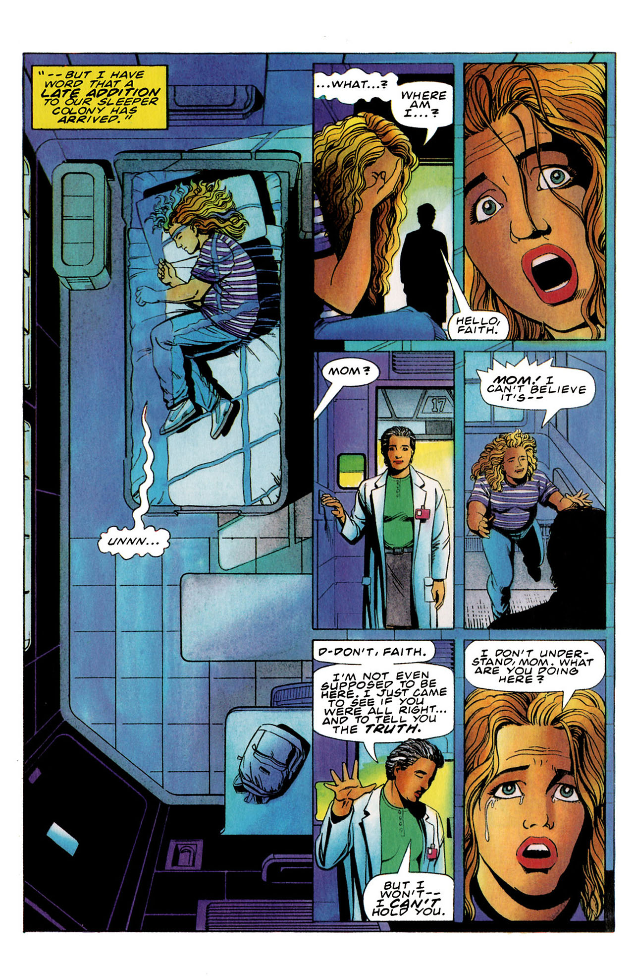 Read online Harbinger (1992) comic -  Issue #35 - 15