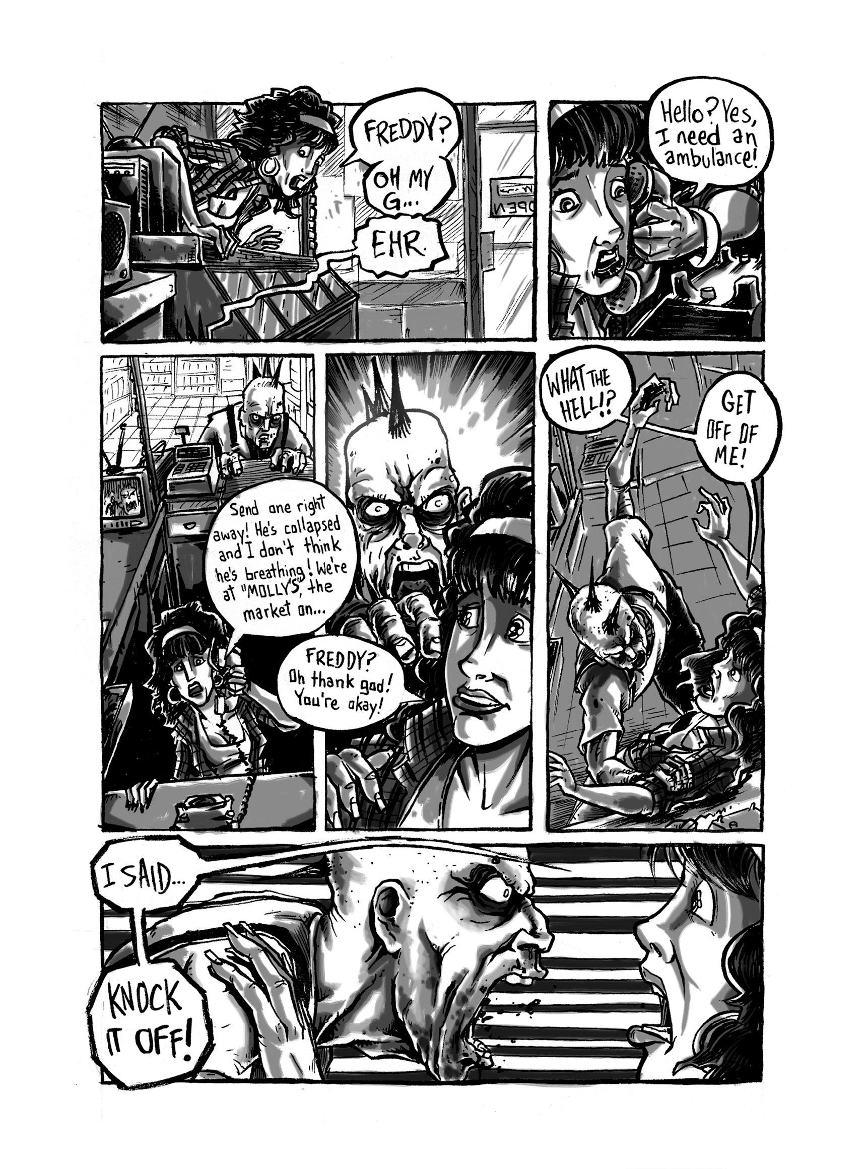 Read online FUBAR comic -  Issue #3 - 353