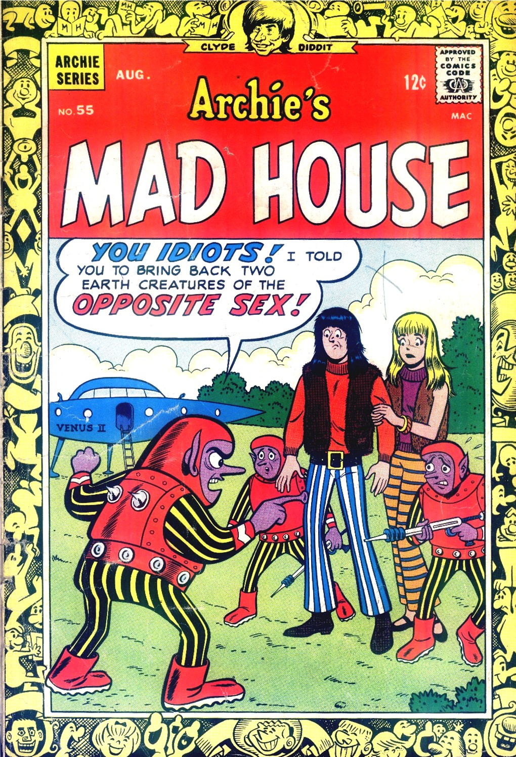 Archies Madhouse 55 Page 1