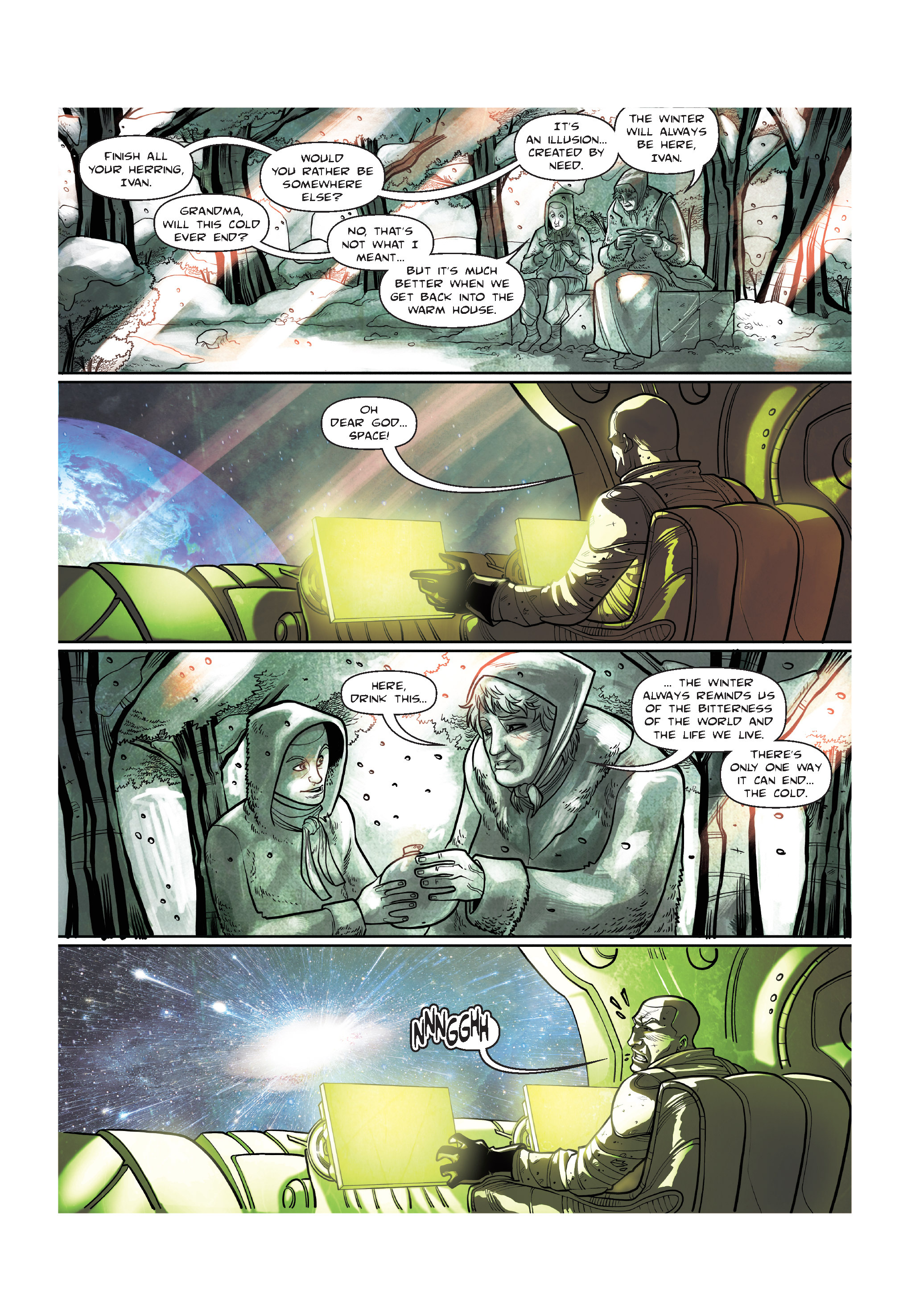 Read online The Shadow of a Terrible Thing comic -  Issue # TPB - 139