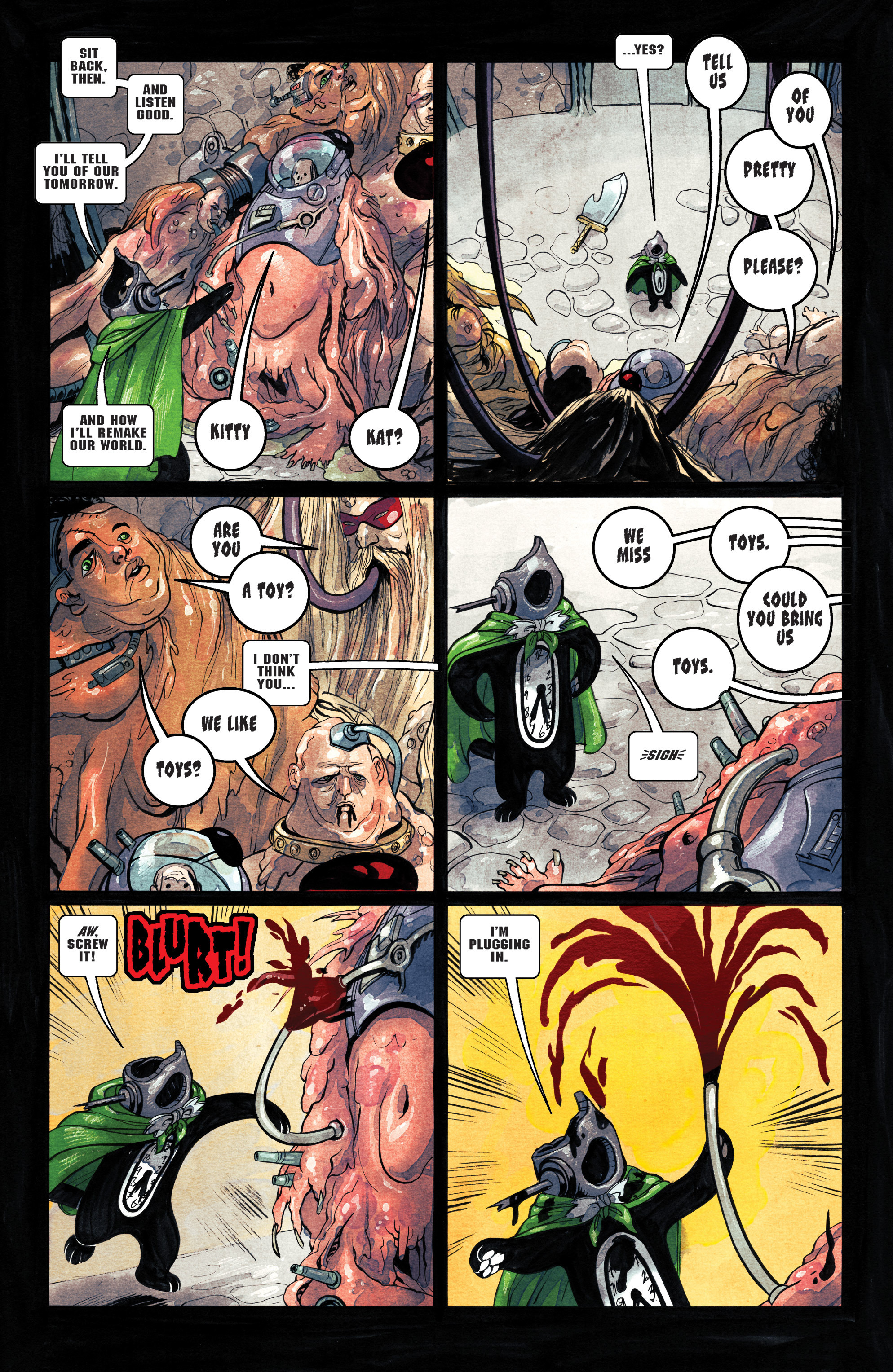 Read online Shutter comic -  Issue #27 - 4