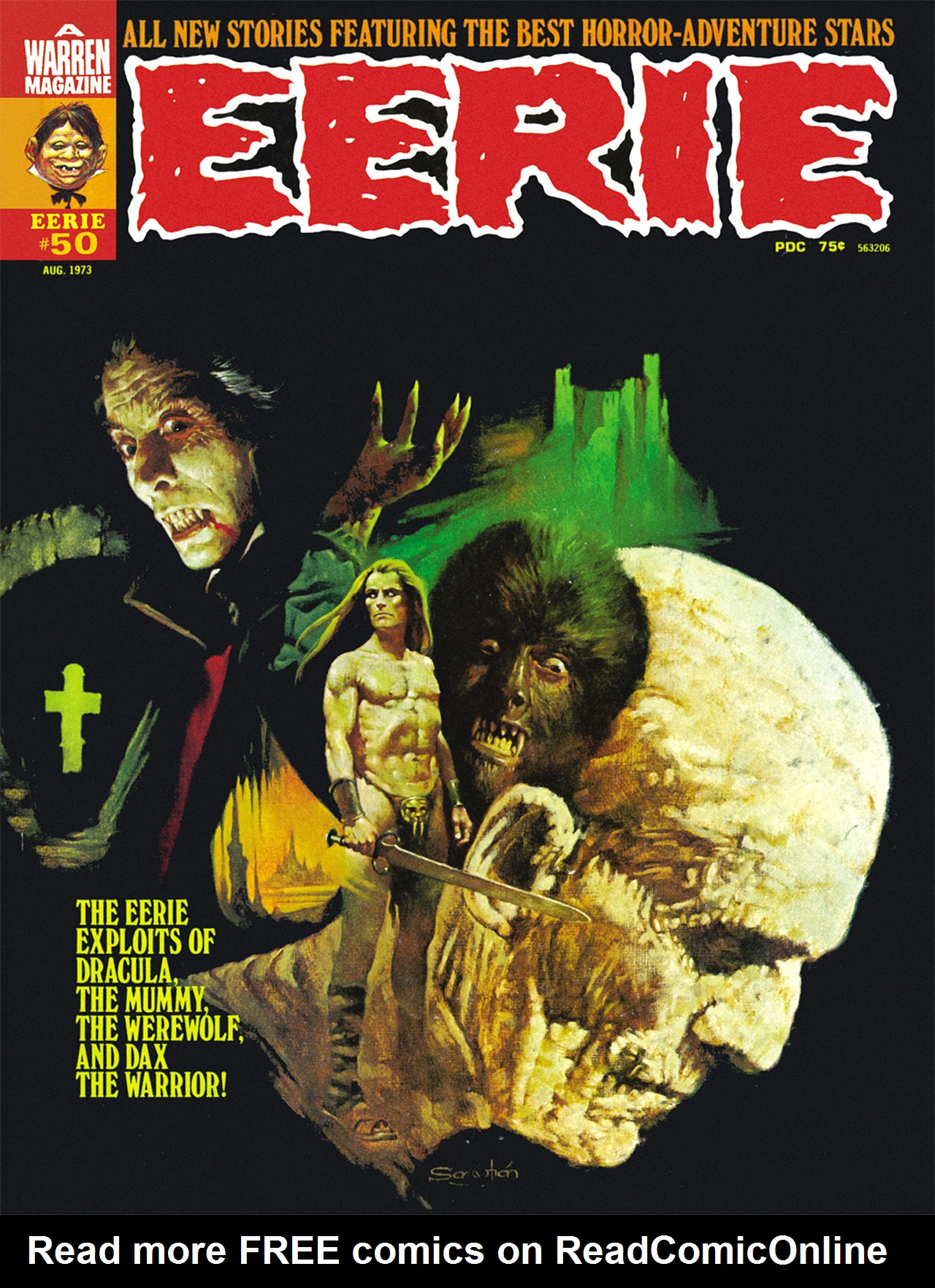 Read online Eerie Archives comic -  Issue # TPB 10 - 198