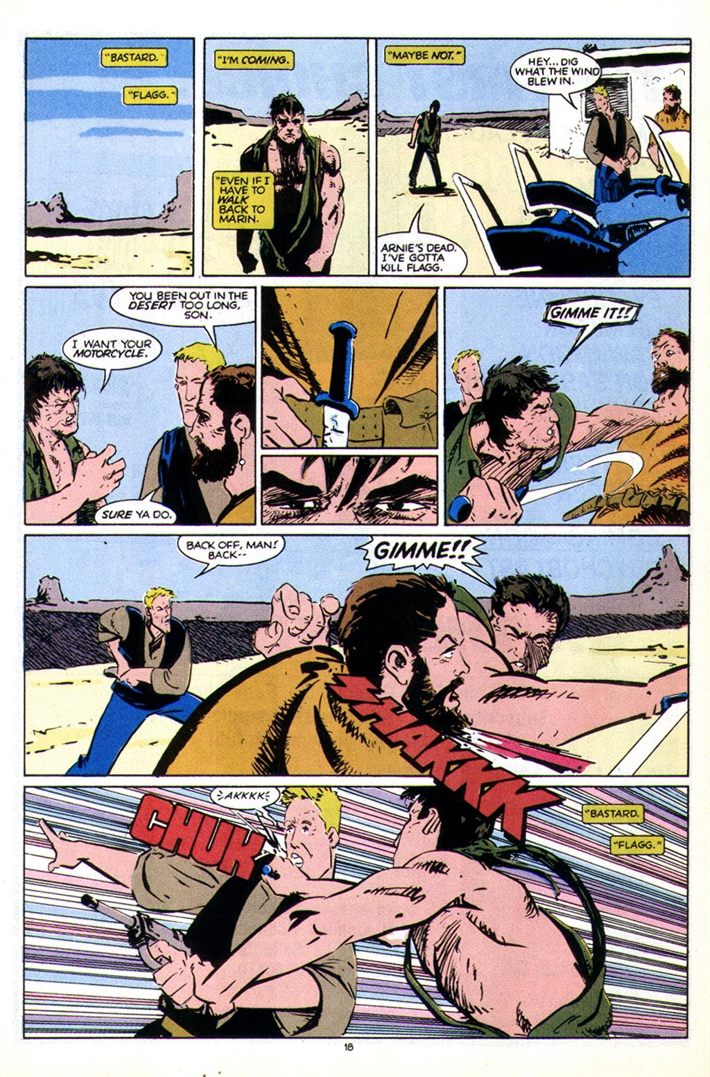 Read online American Flagg! comic -  Issue #43 - 24