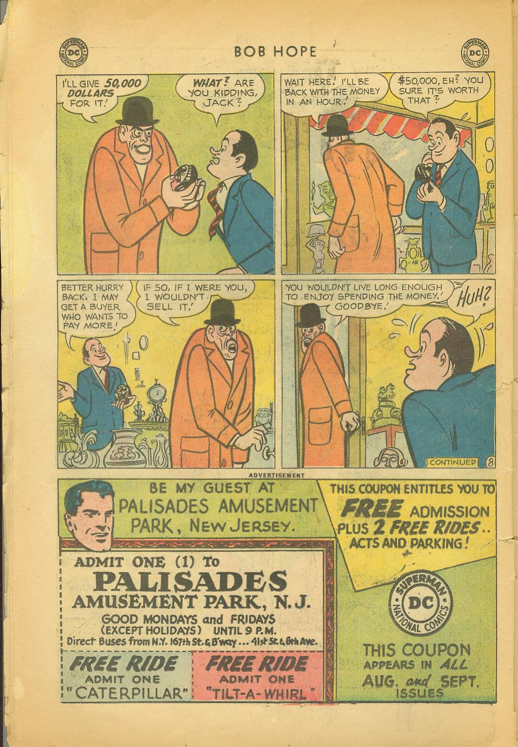 The Adventures of Bob Hope issue 64 - Page 10