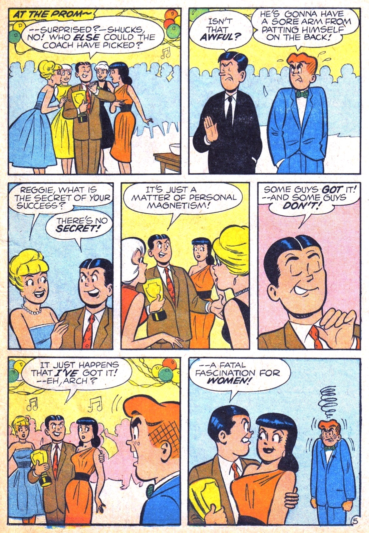 Read online Archie (1960) comic -  Issue #120 - 17