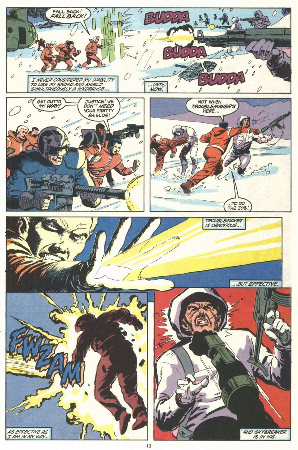 Read online Justice (1986) comic -  Issue #29 - 14