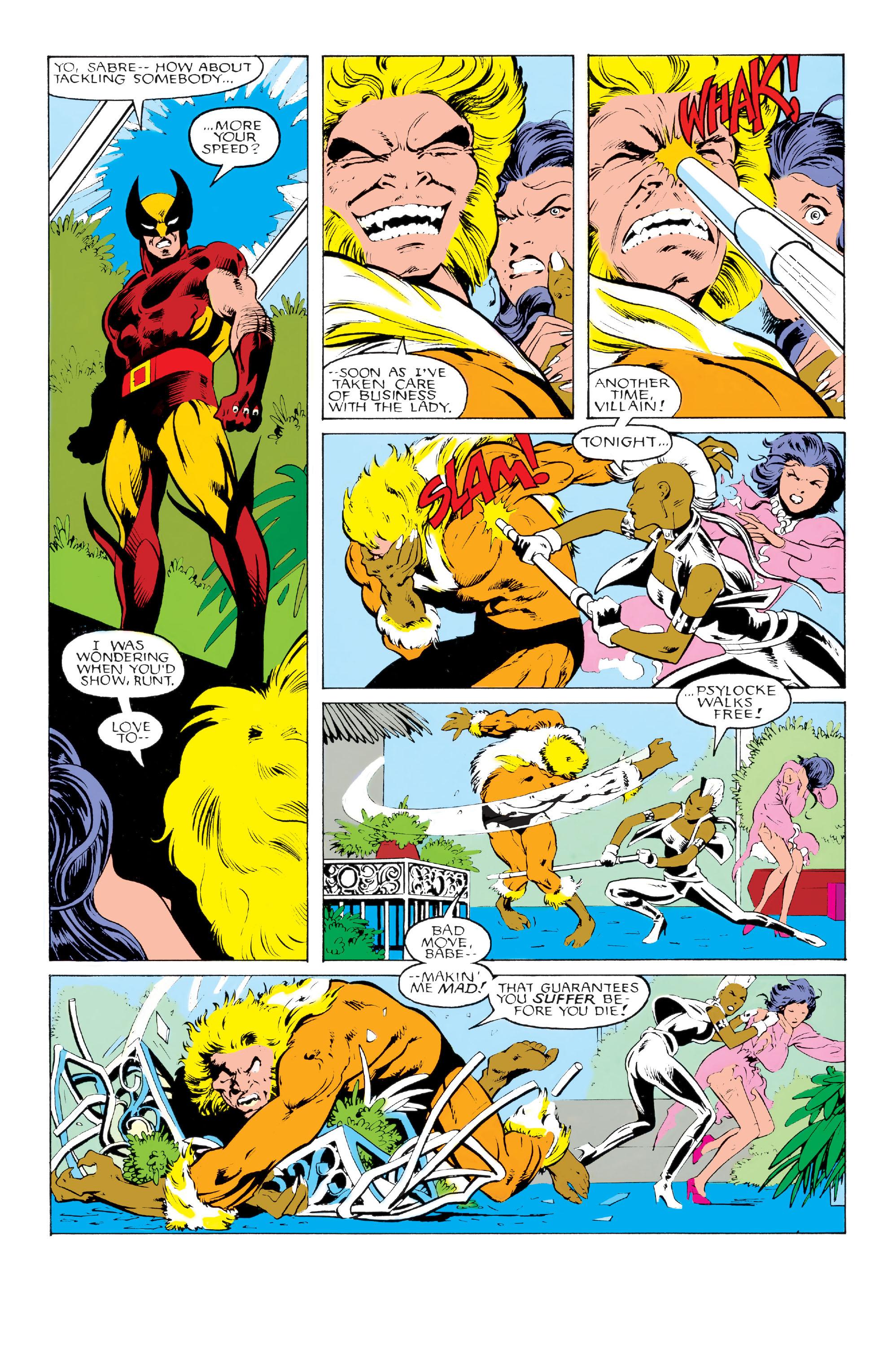 Read online Uncanny X-Men (1963) comic -  Issue #213 - 16
