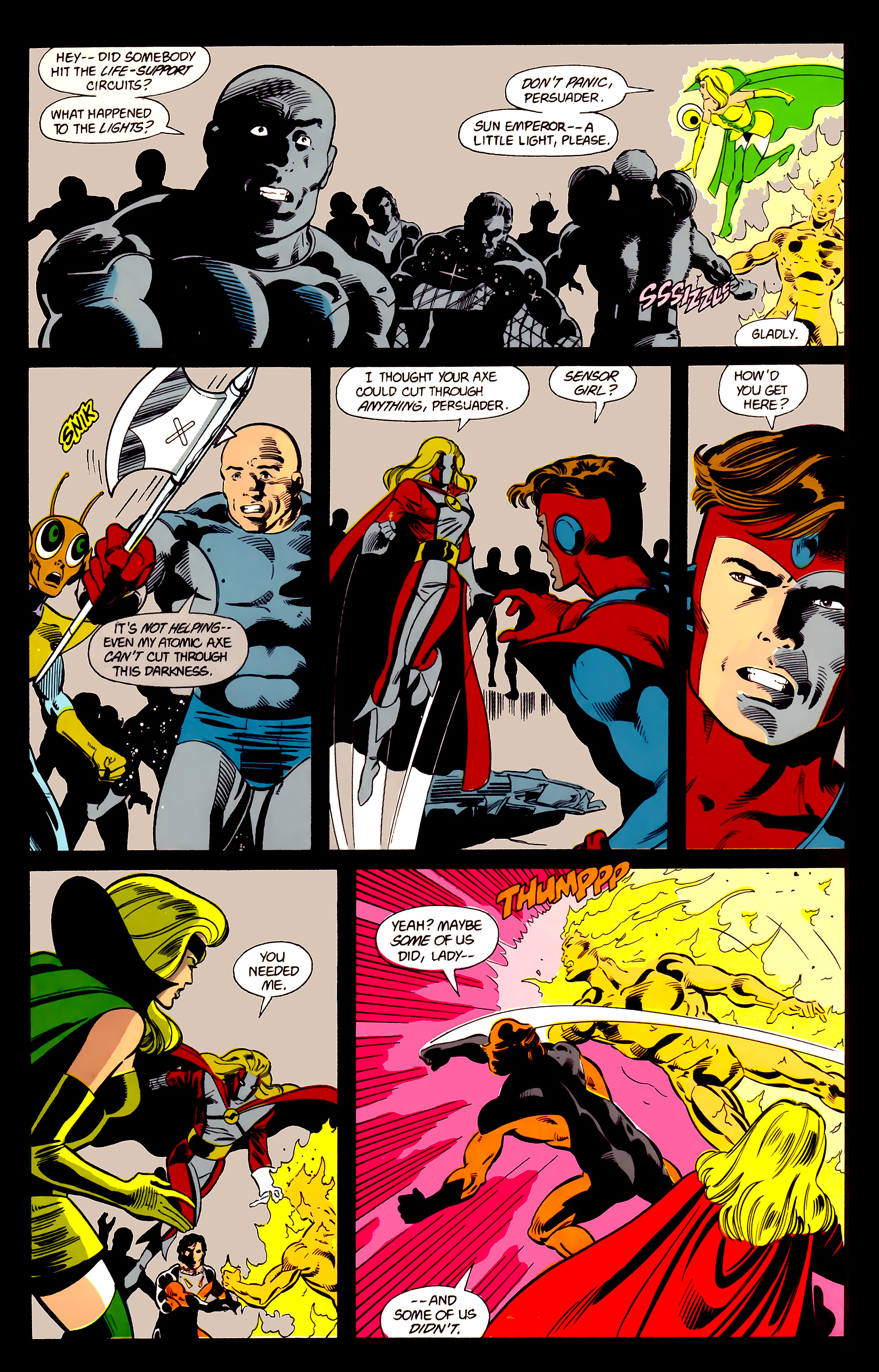 Legion of Super-Heroes (1984) 21 Page 15
