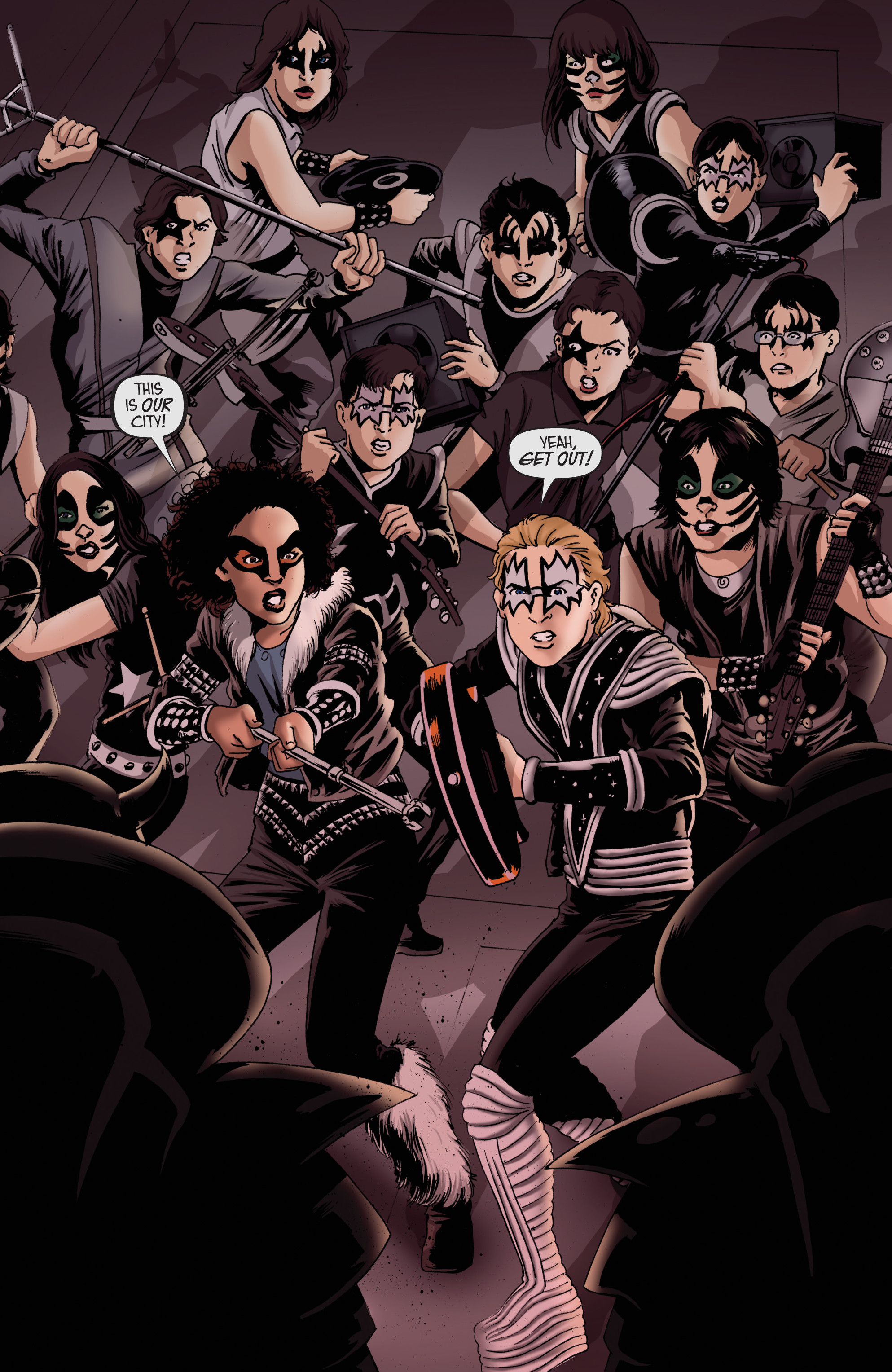 Read online KISS comic -  Issue #8 - 20