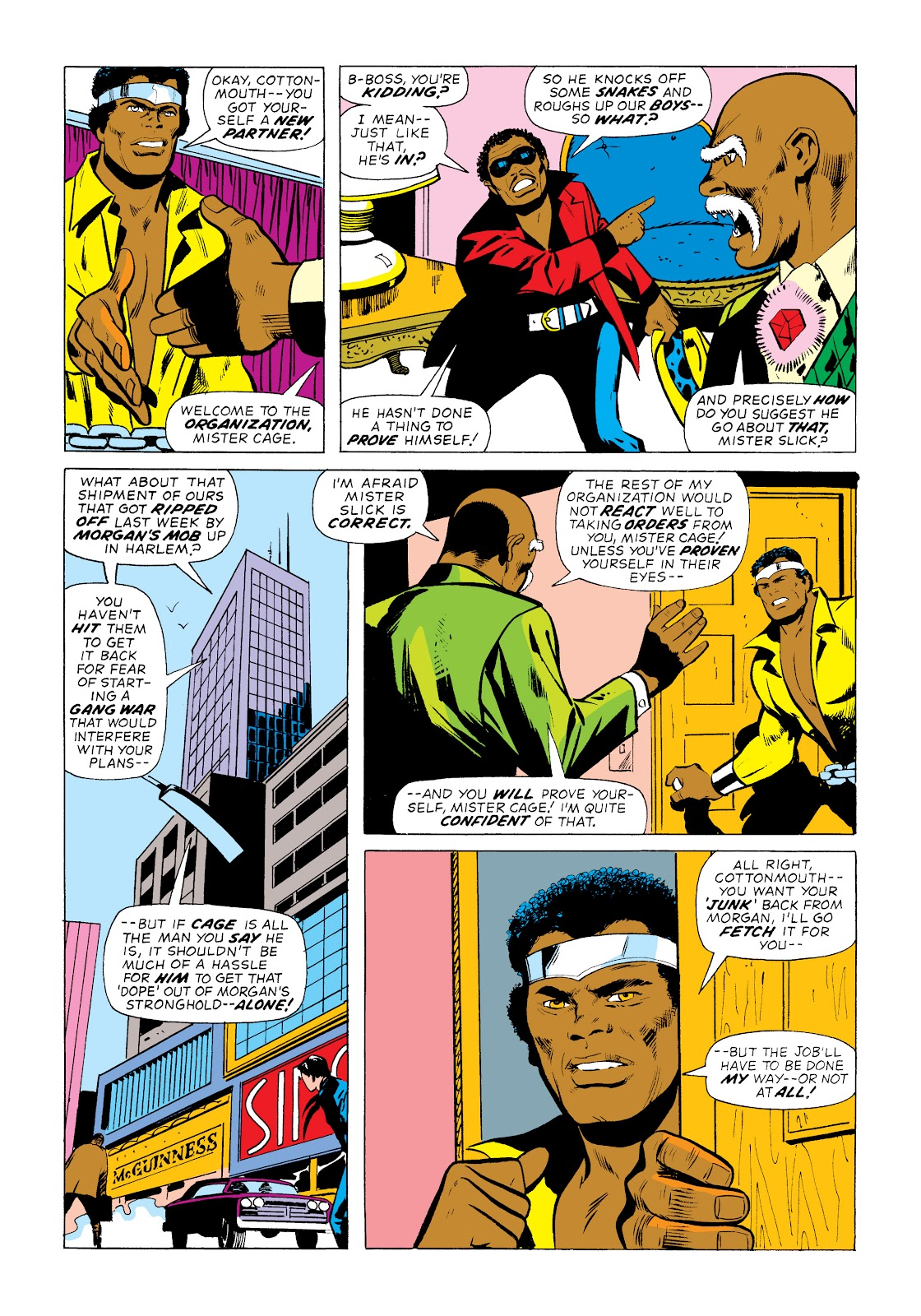Read online Marvel Masterworks: Luke Cage, Power Man comic -  Issue # TPB 2 (Part 1) - 60