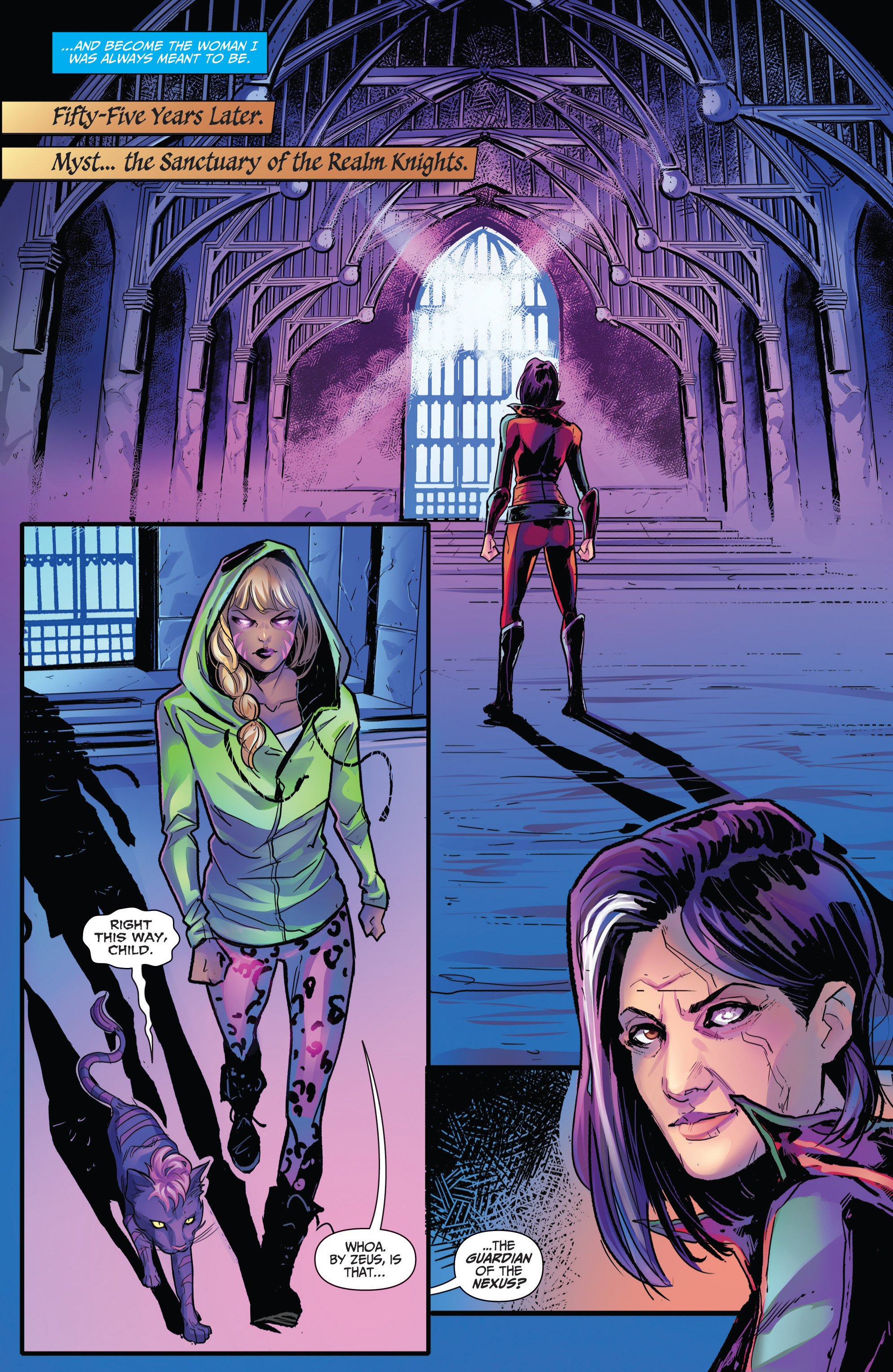 Read online Grimm Fairy Tales: Arcane Acre comic -  Issue # TPB 4 - 187