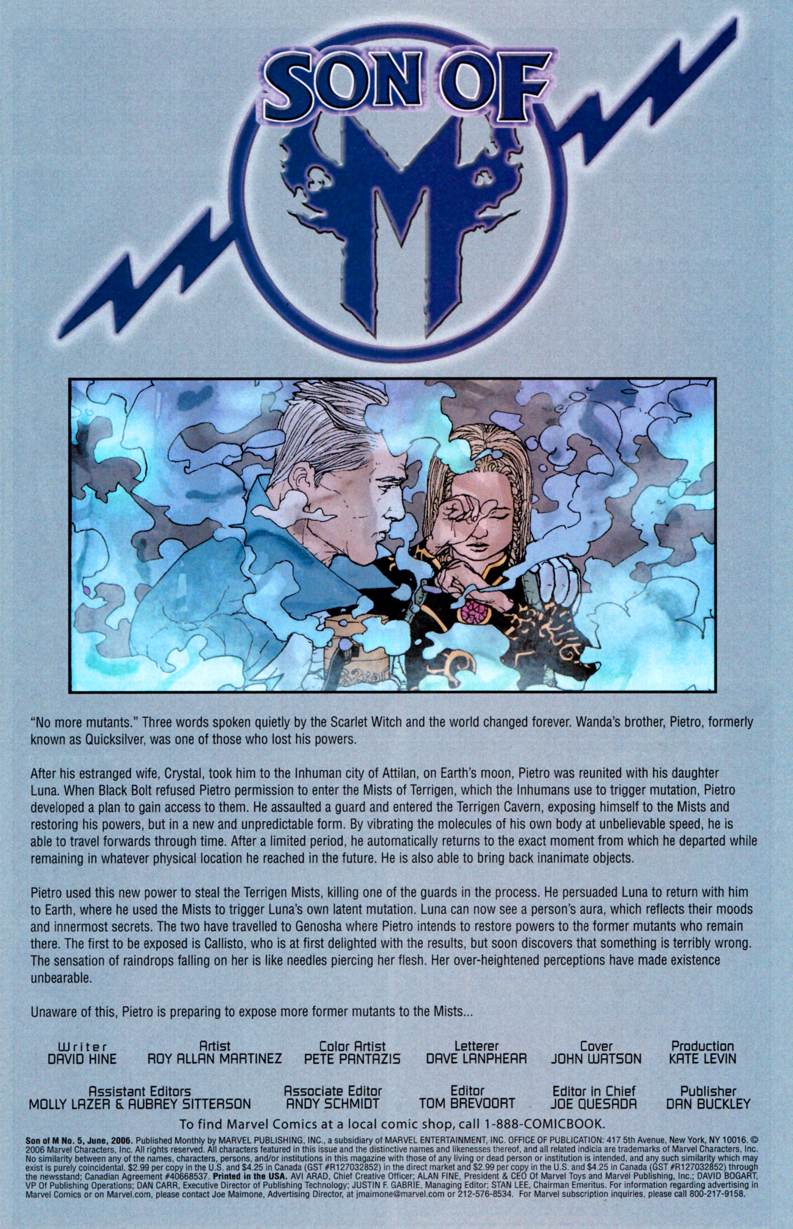 Read online Son of M comic -  Issue #5 - 3