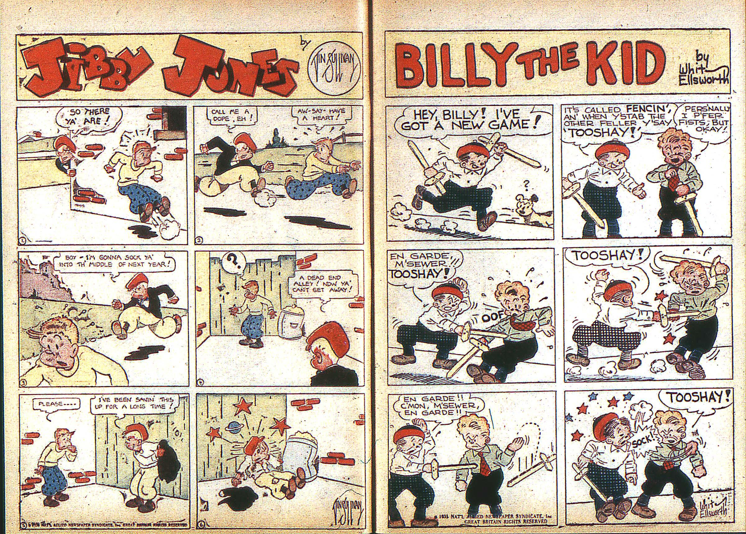 Read online Adventure Comics (1938) comic -  Issue #3 - 5
