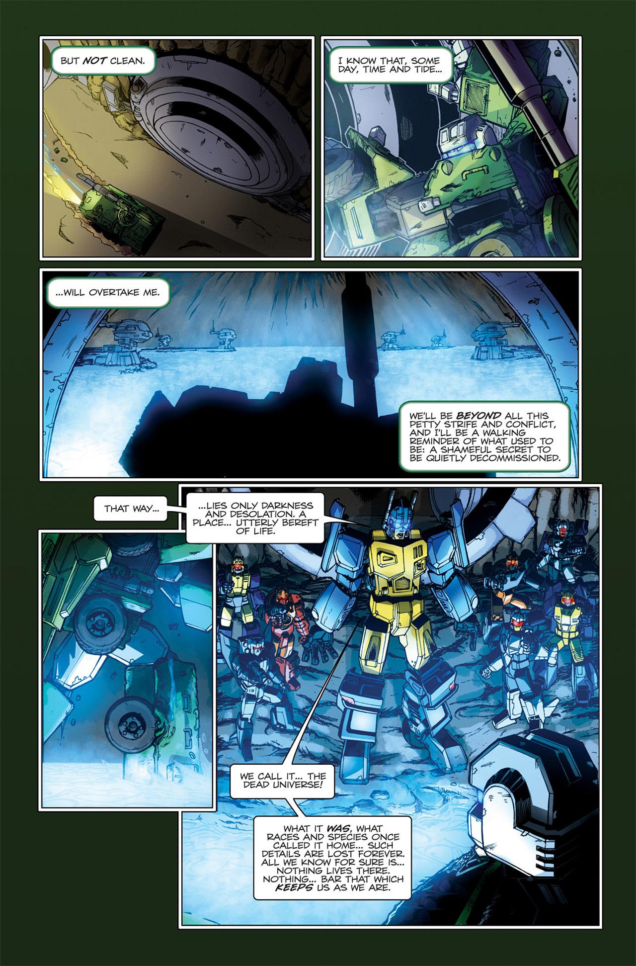 Read online Transformers Spotlight: Hardhead comic -  Issue # Full - 22