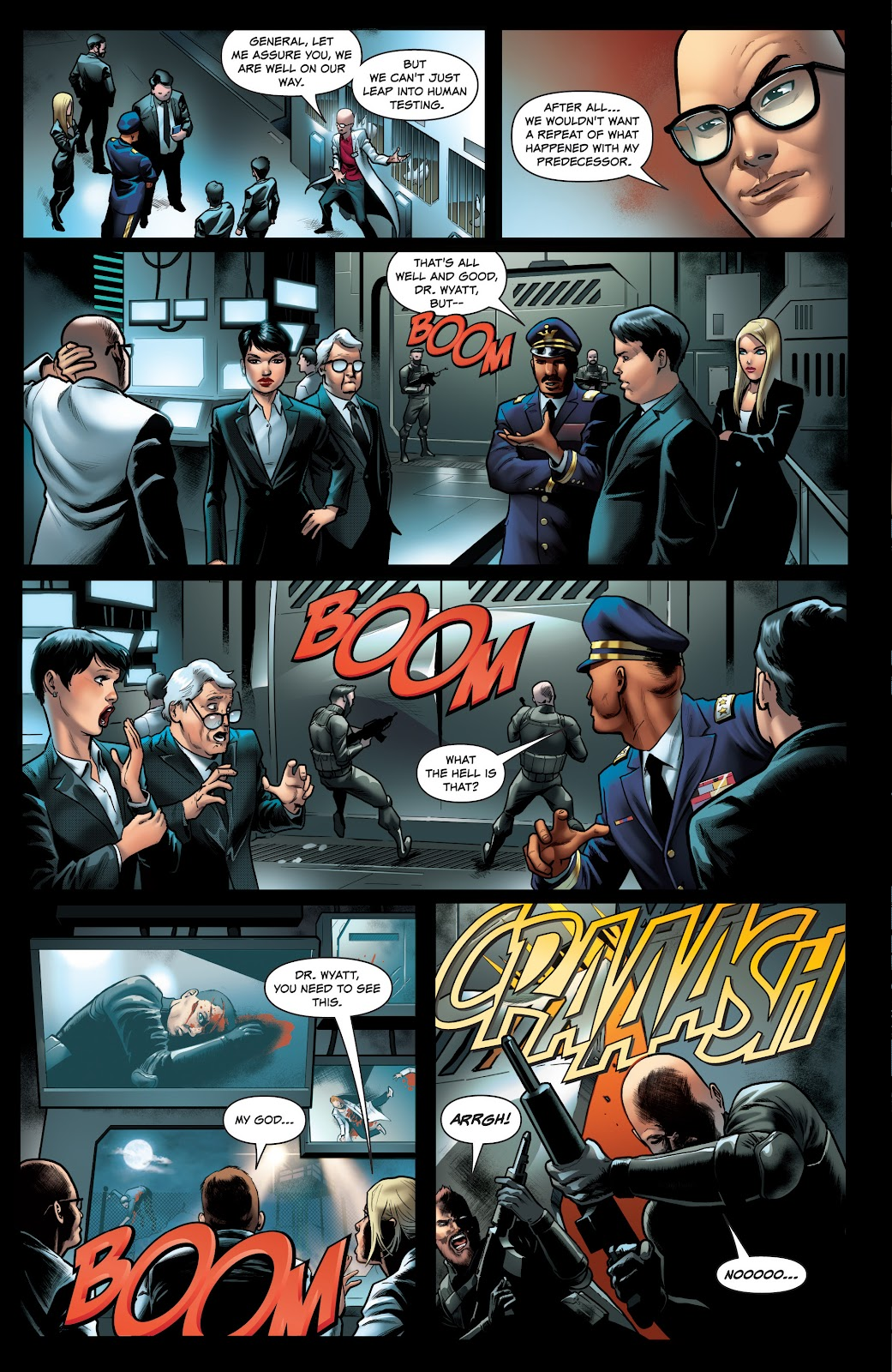 Read online Red Agent: Island of Dr Moreau comic -  Issue #1 - 4