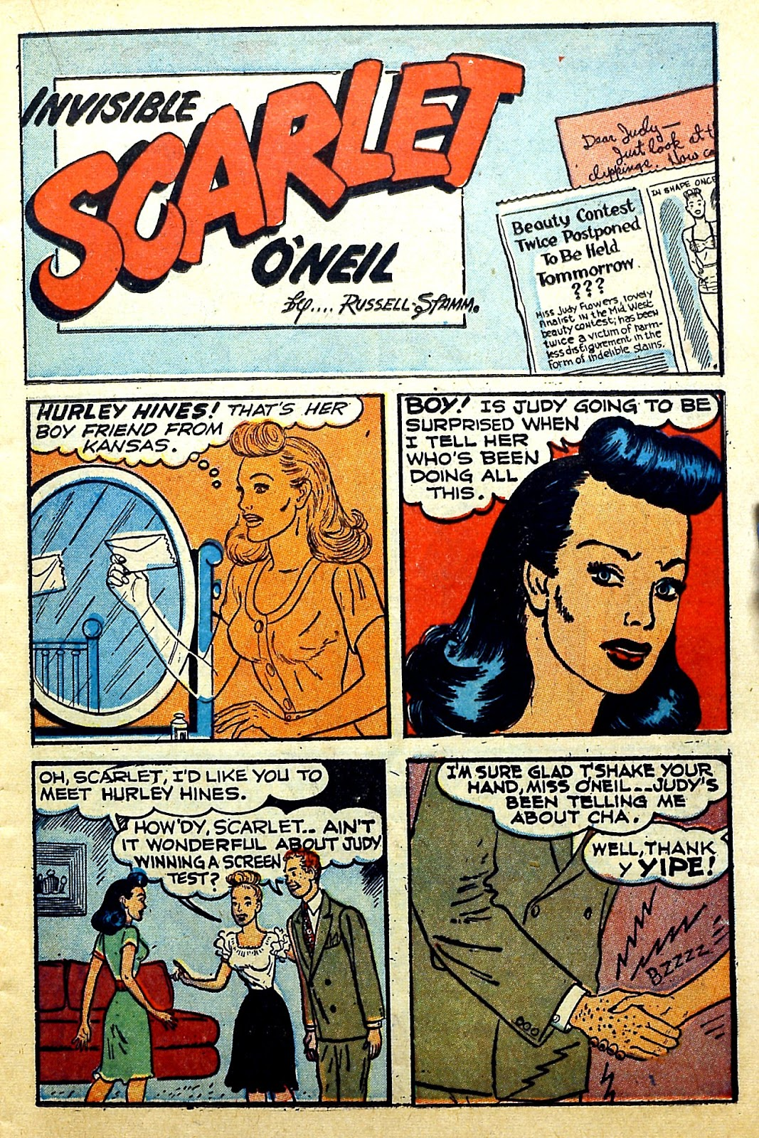 Read online Famous Funnies comic -  Issue #166 - 19
