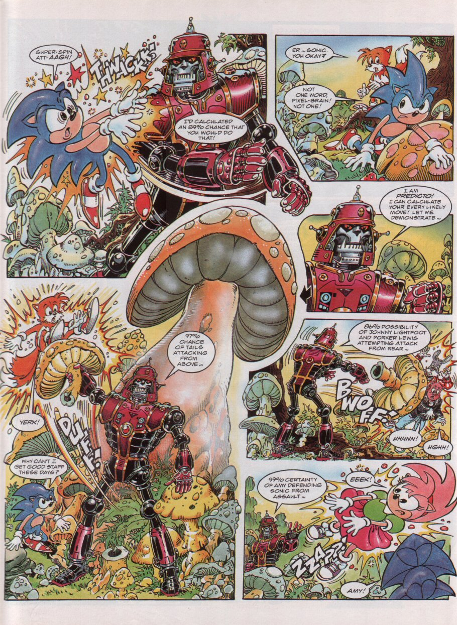 Read online Sonic the Comic comic -  Issue #54 - 6