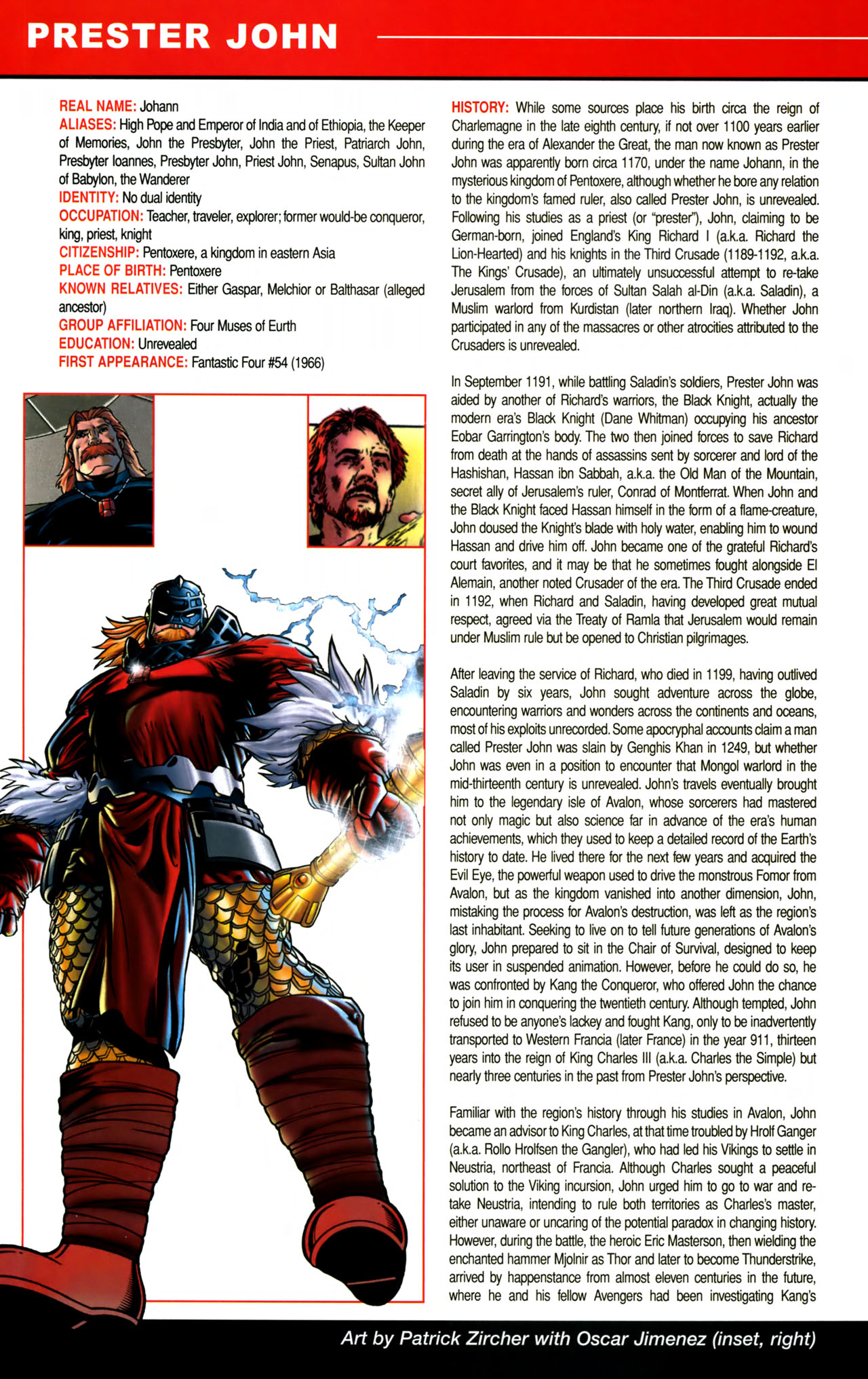 Read online All-New Official Handbook of the Marvel Universe A to Z comic -  Issue #8 - 52