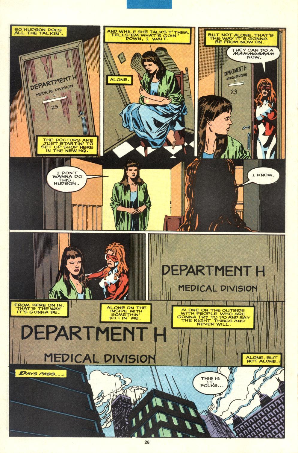 Read online Alpha Flight (1983) comic -  Issue #95 - 21