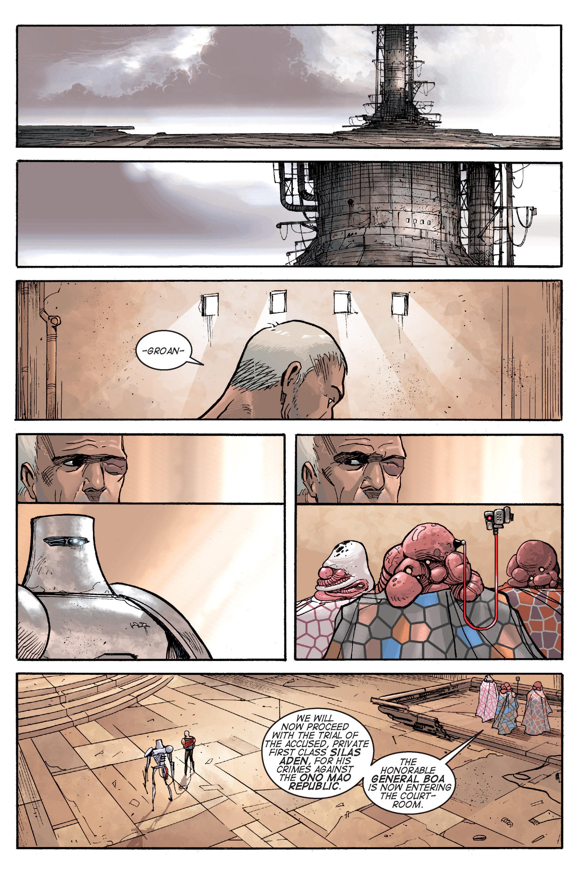 Read online Planetoid comic -  Issue # TPB - 118