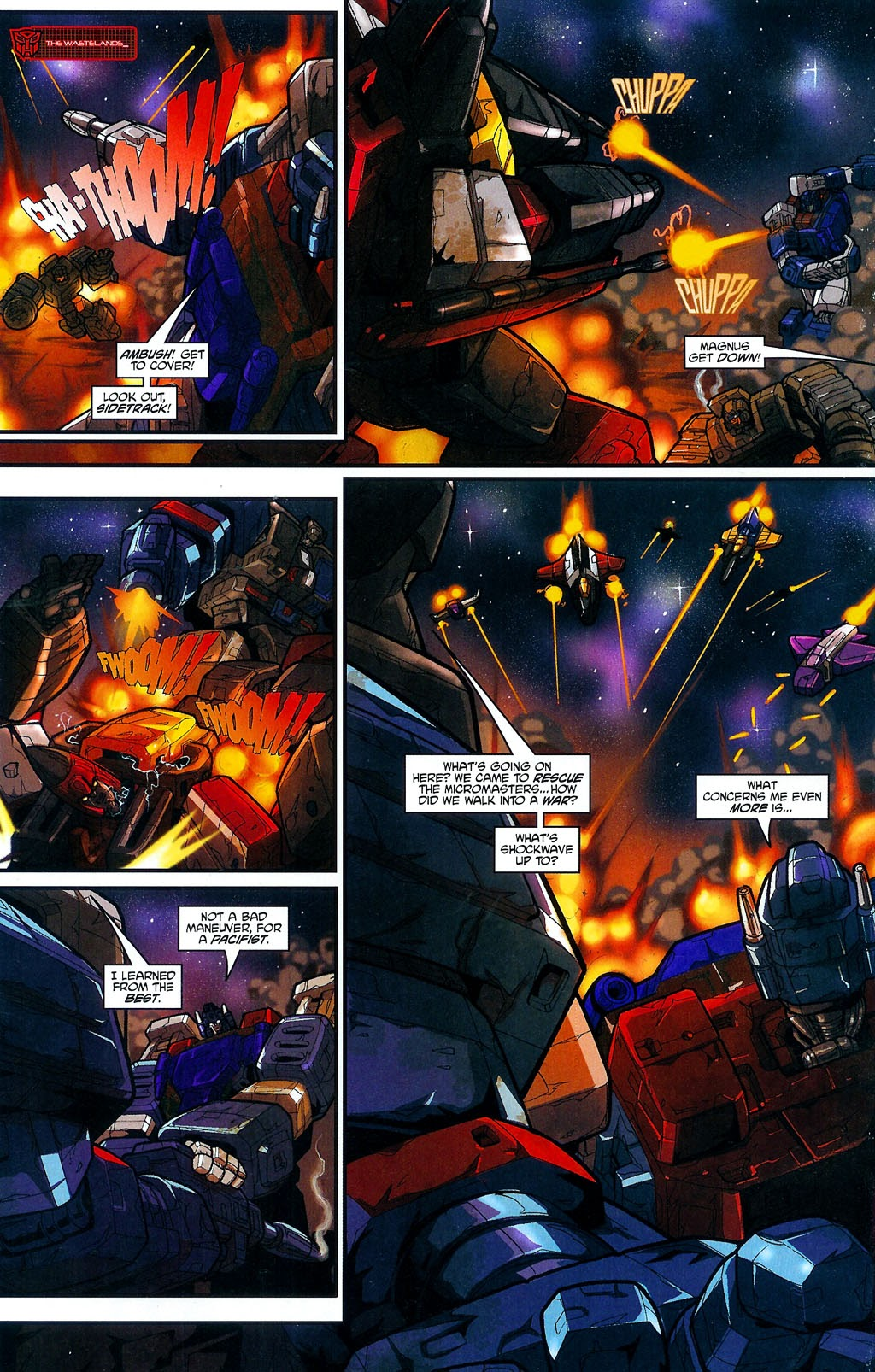 Read online Transformers: Micromasters comic -  Issue #4 - 16
