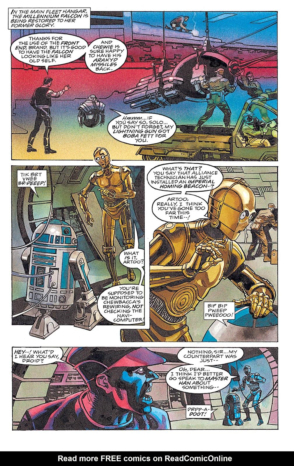Read online Star Wars: Dark Empire Trilogy comic -  Issue # TPB (Part 4) - 16