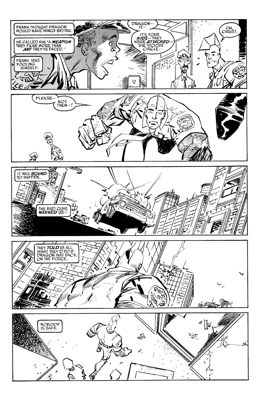 Read online Savage Dragon Archives comic -  Issue # TPB 6 (Part 5) - 7