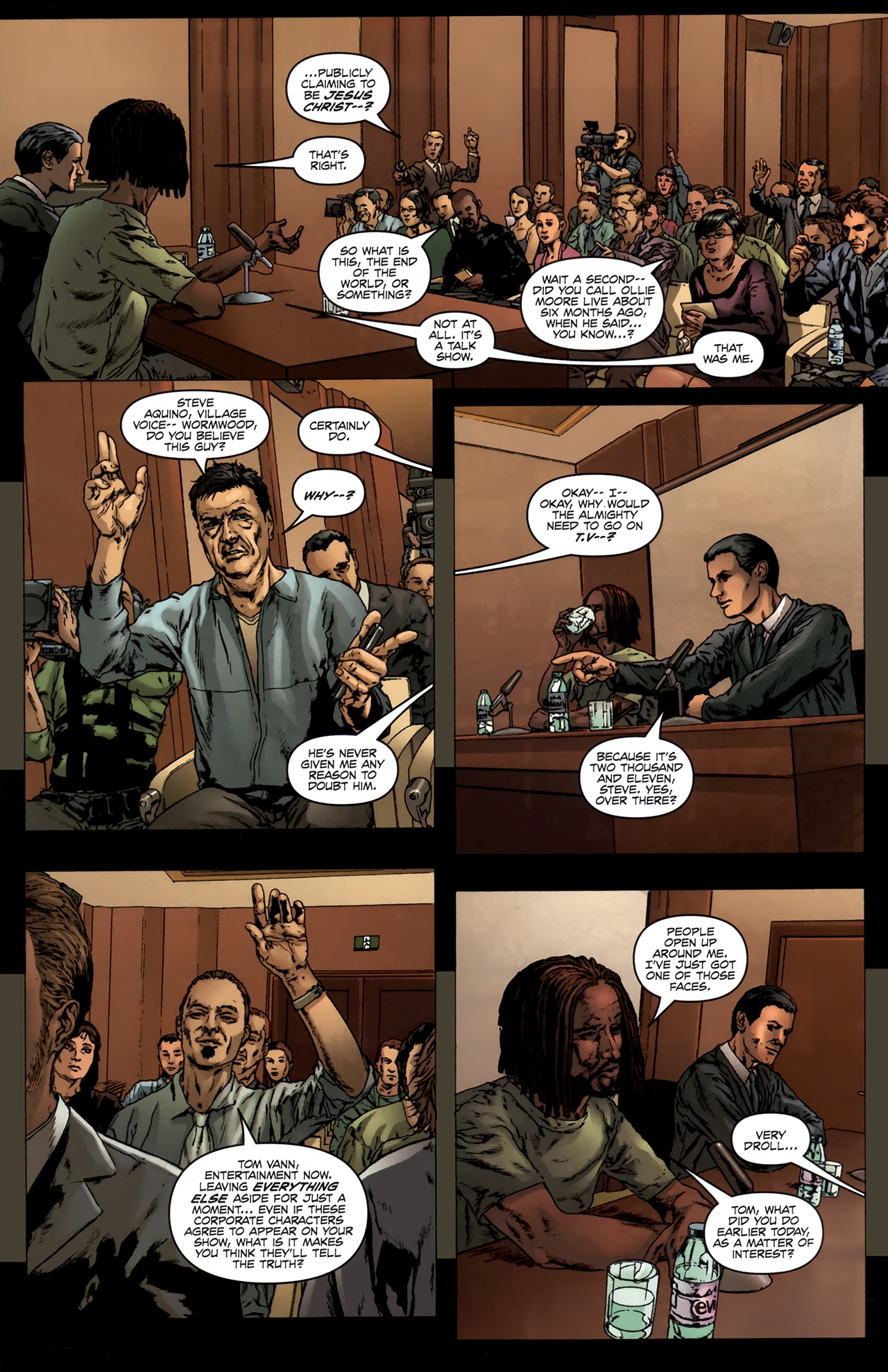 Read online Chronicles of Wormwood: The Last Battle comic -  Issue #6 - 27