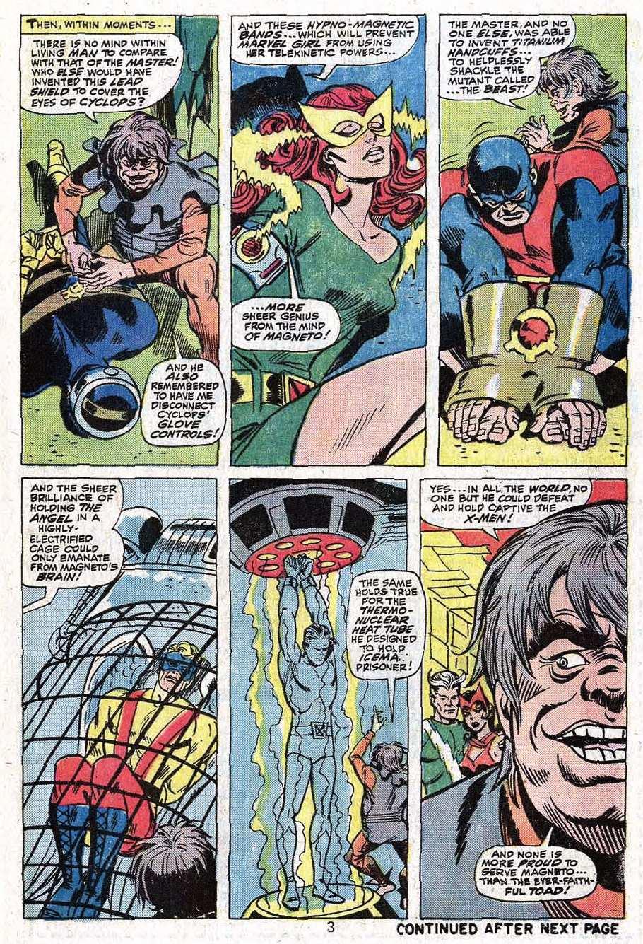 Read online Uncanny X-Men (1963) comic -  Issue #92 - 5