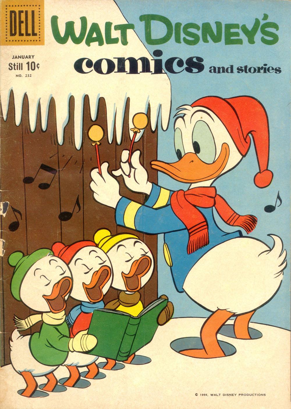 Walt Disneys Comics and Stories 232 Page 1
