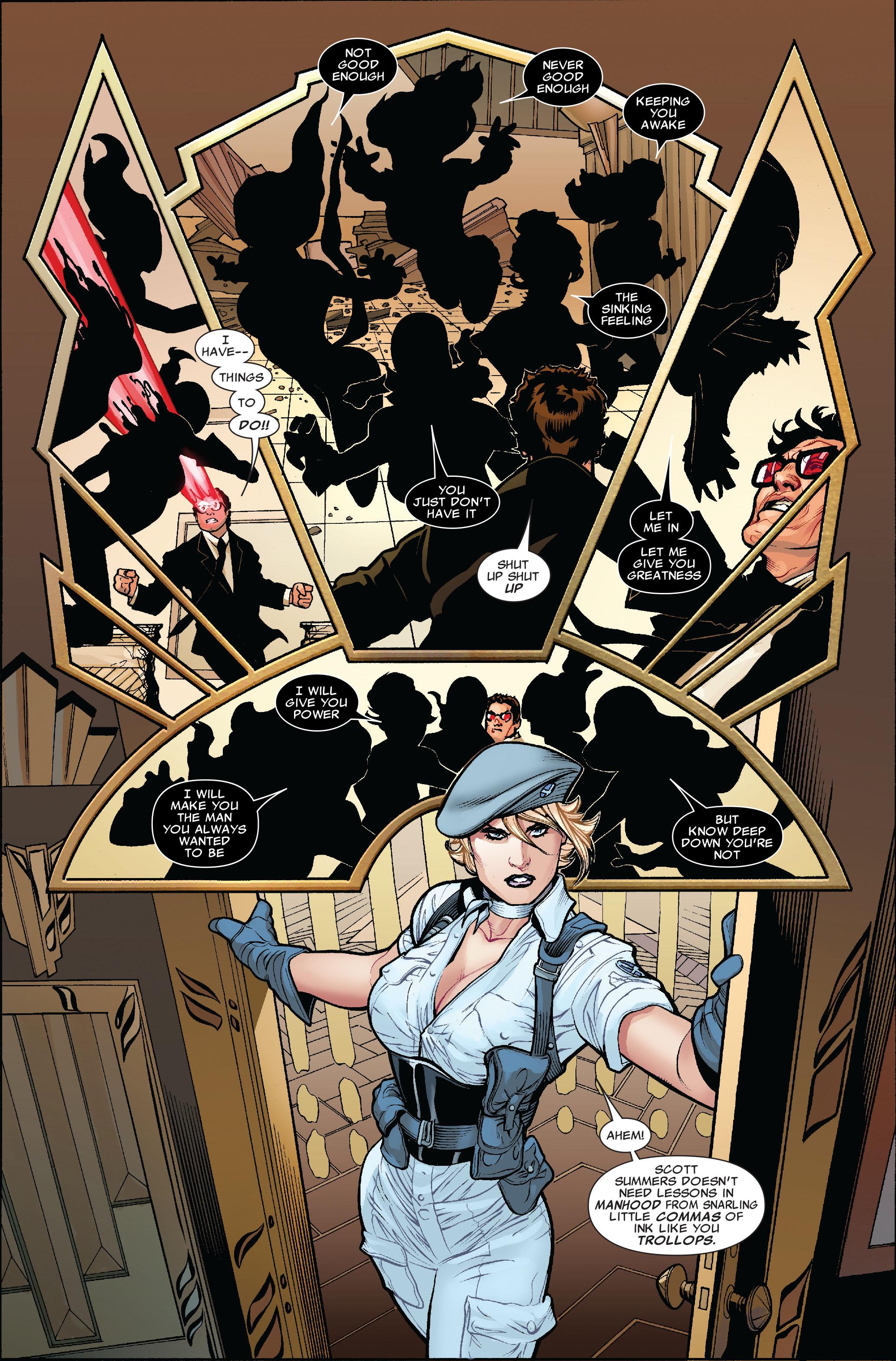 Read online Uncanny X-Men (1963) comic -  Issue #519 - 10