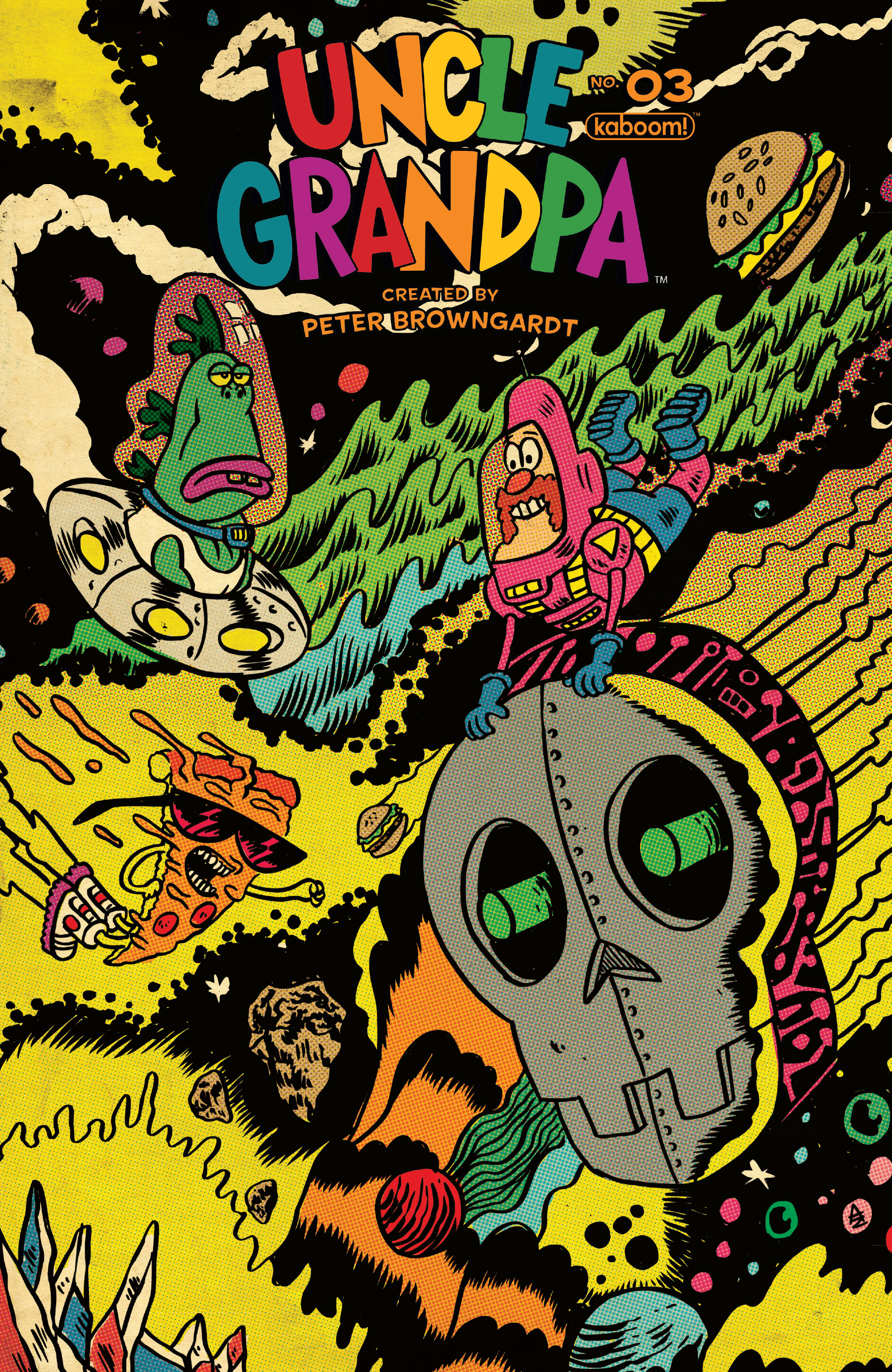 Read online Uncle Grandpa comic -  Issue #3 - 1