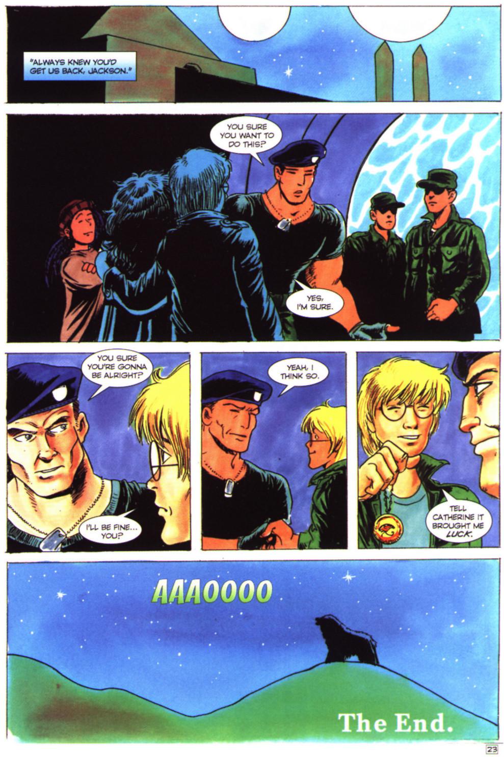 Read online Stargate comic -  Issue #4 - 25