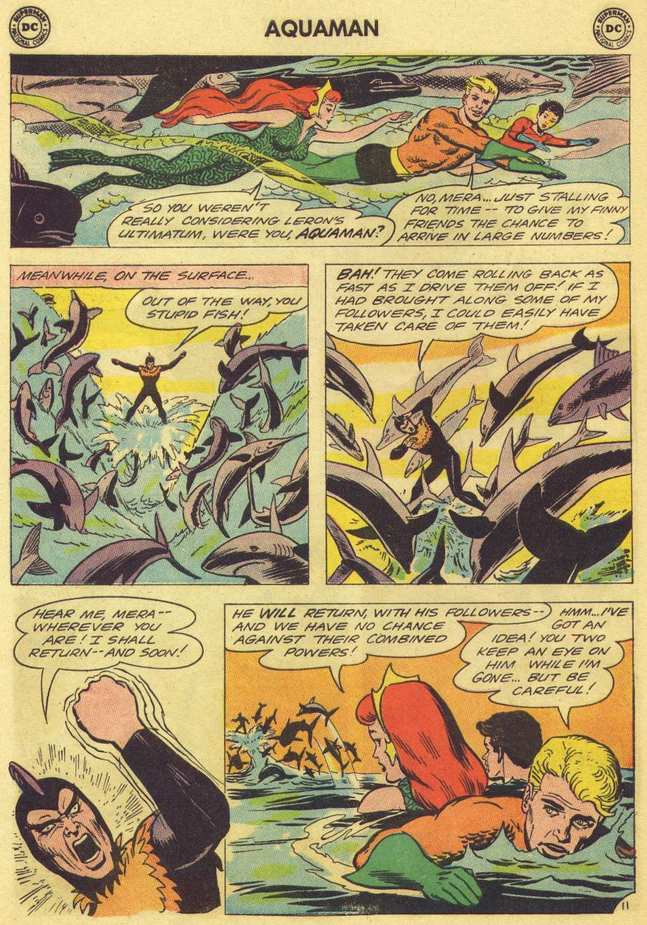 Read online Aquaman (1962) comic -  Issue #11 - 16