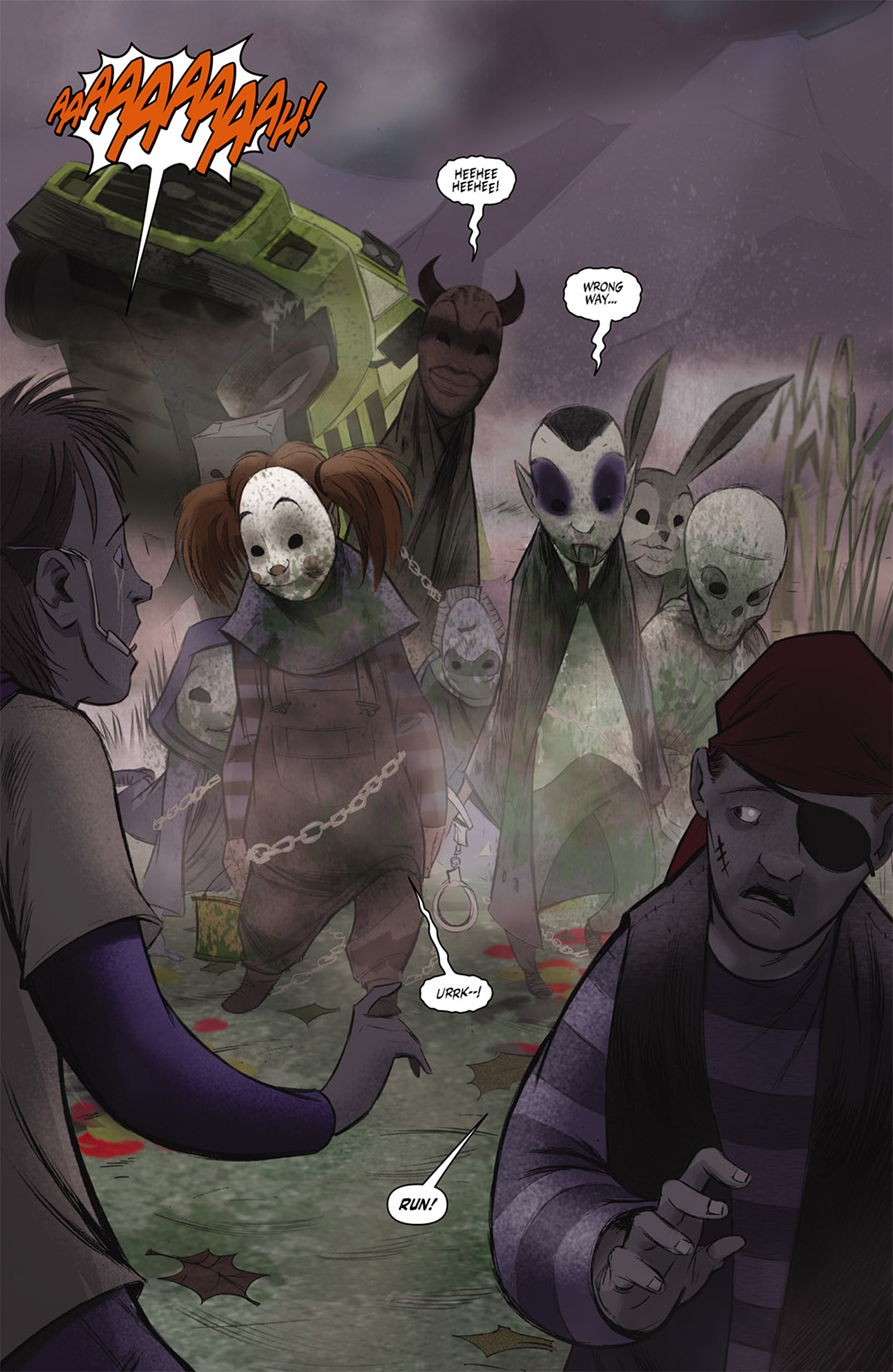 Read online Trick 'r Treat comic -  Issue #2 - 21