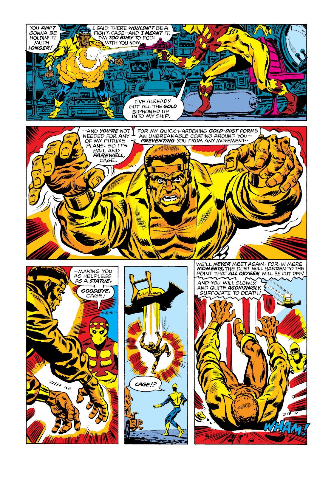 Read online Marvel Masterworks: Luke Cage, Power Man comic -  Issue # TPB 3 (Part 3) - 6
