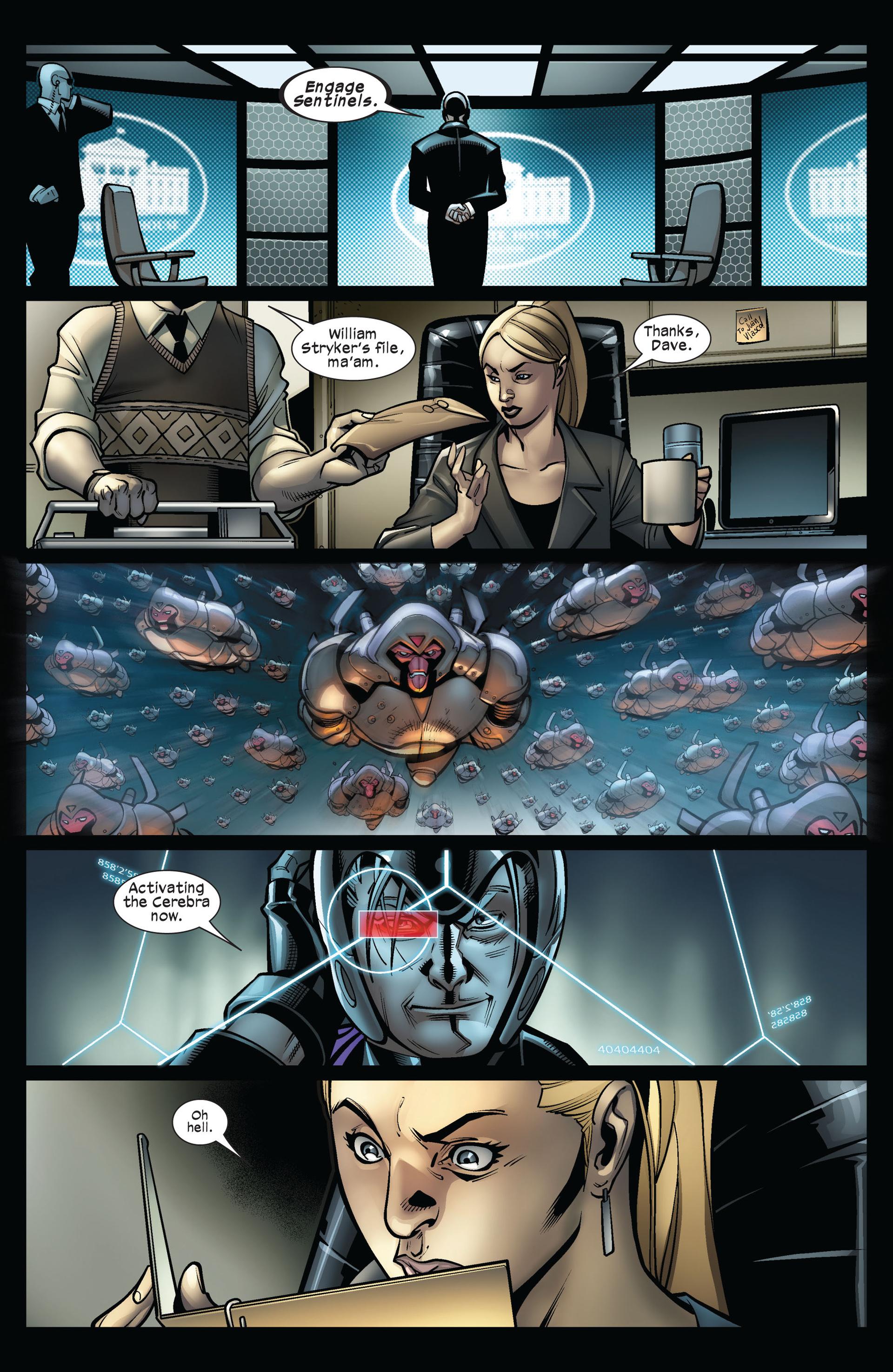 Read online Ultimate Comics X-Men comic -  Issue #5 - 19