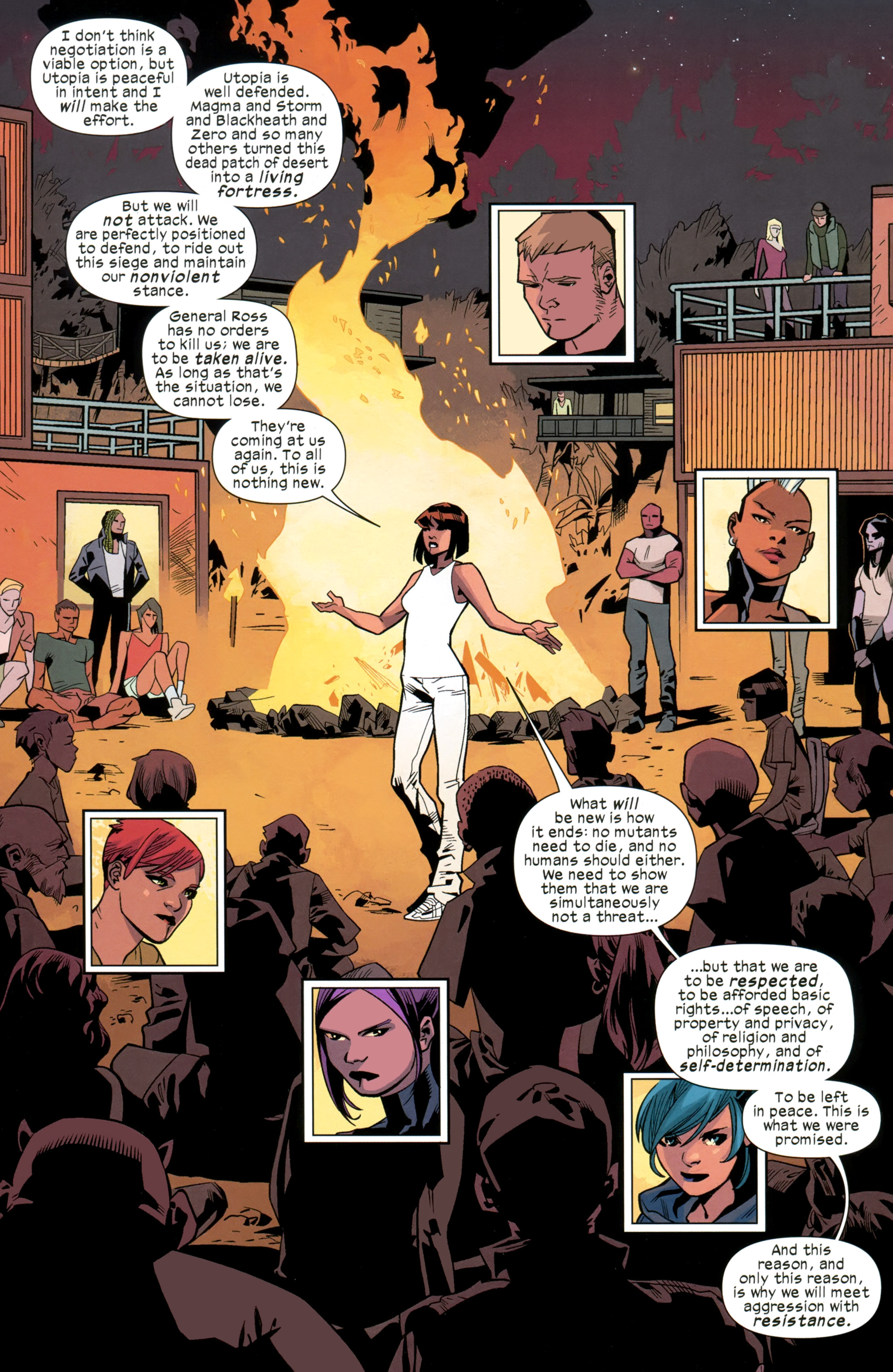 Read online Ultimate Comics X-Men comic -  Issue #26 - 20