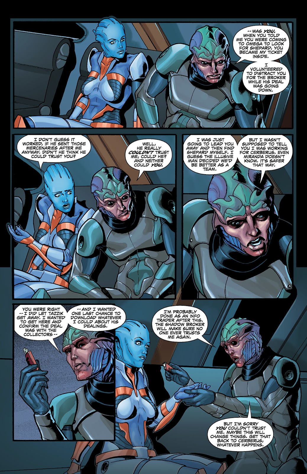 Mass Effect: Redemption Issue #4 #4 - English 9