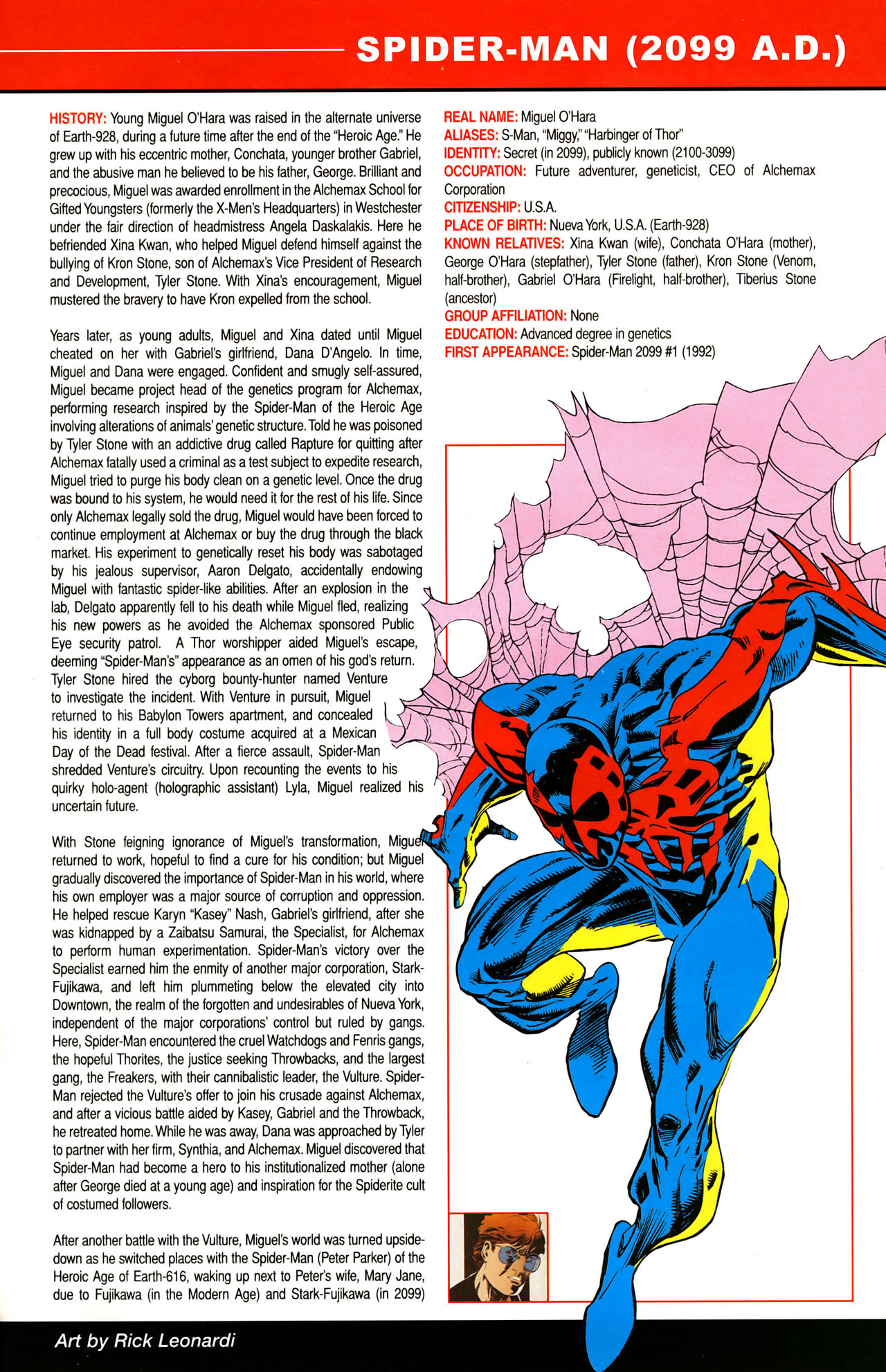 Read online All-New Official Handbook of the Marvel Universe A to Z: Update comic -  Issue #1 - 50