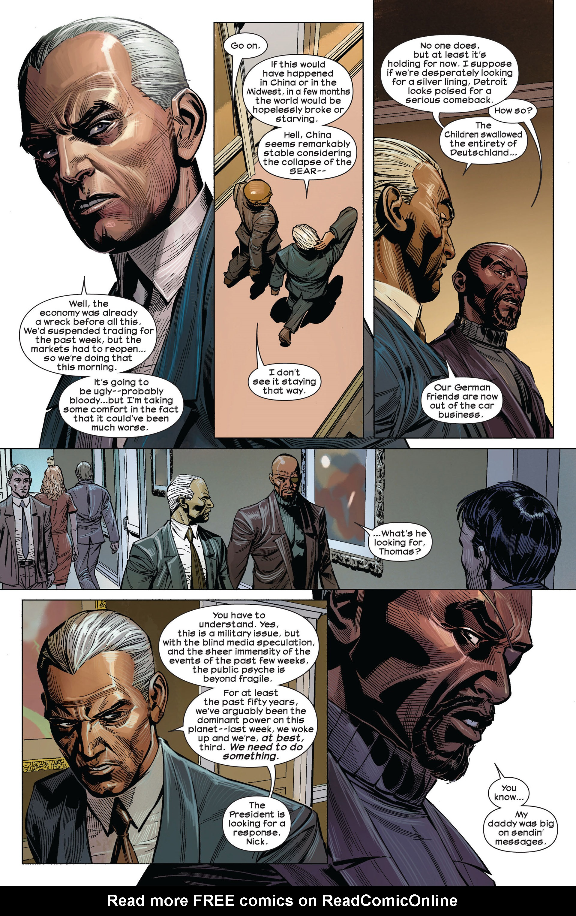 Read online Ultimate Comics Ultimates comic -  Issue #5 - 4